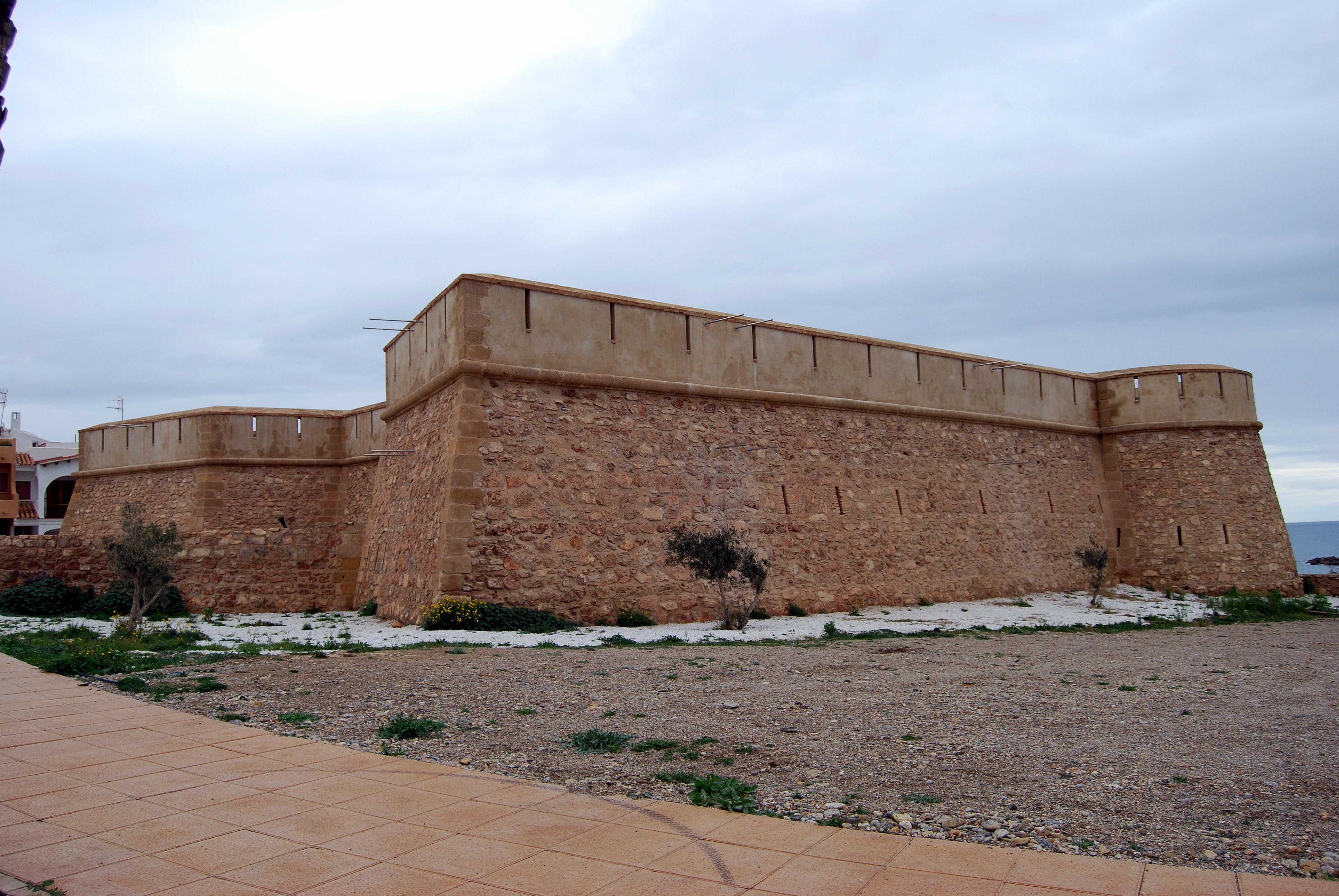 Foto playa Garrucha / Las Escobetas. Museo NAUTARUM---CASTILLO DE JESÚS NAZARENO EN GARRUCHA
