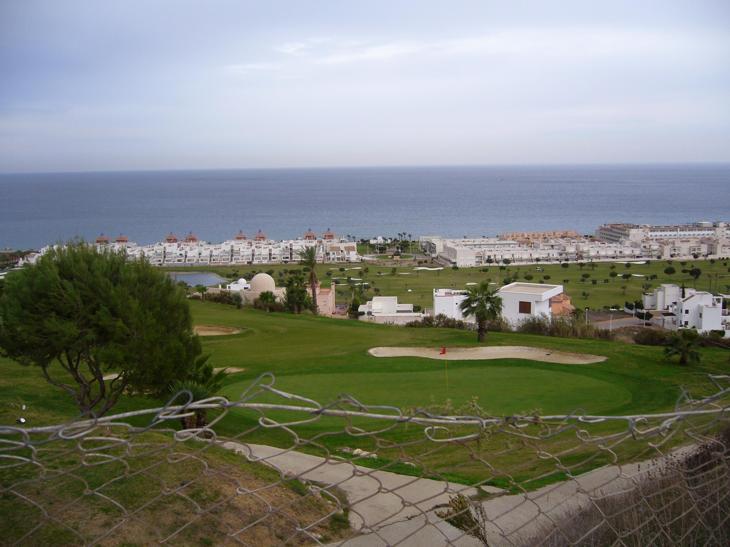 Foto playa El Descargador. vista de mojacar