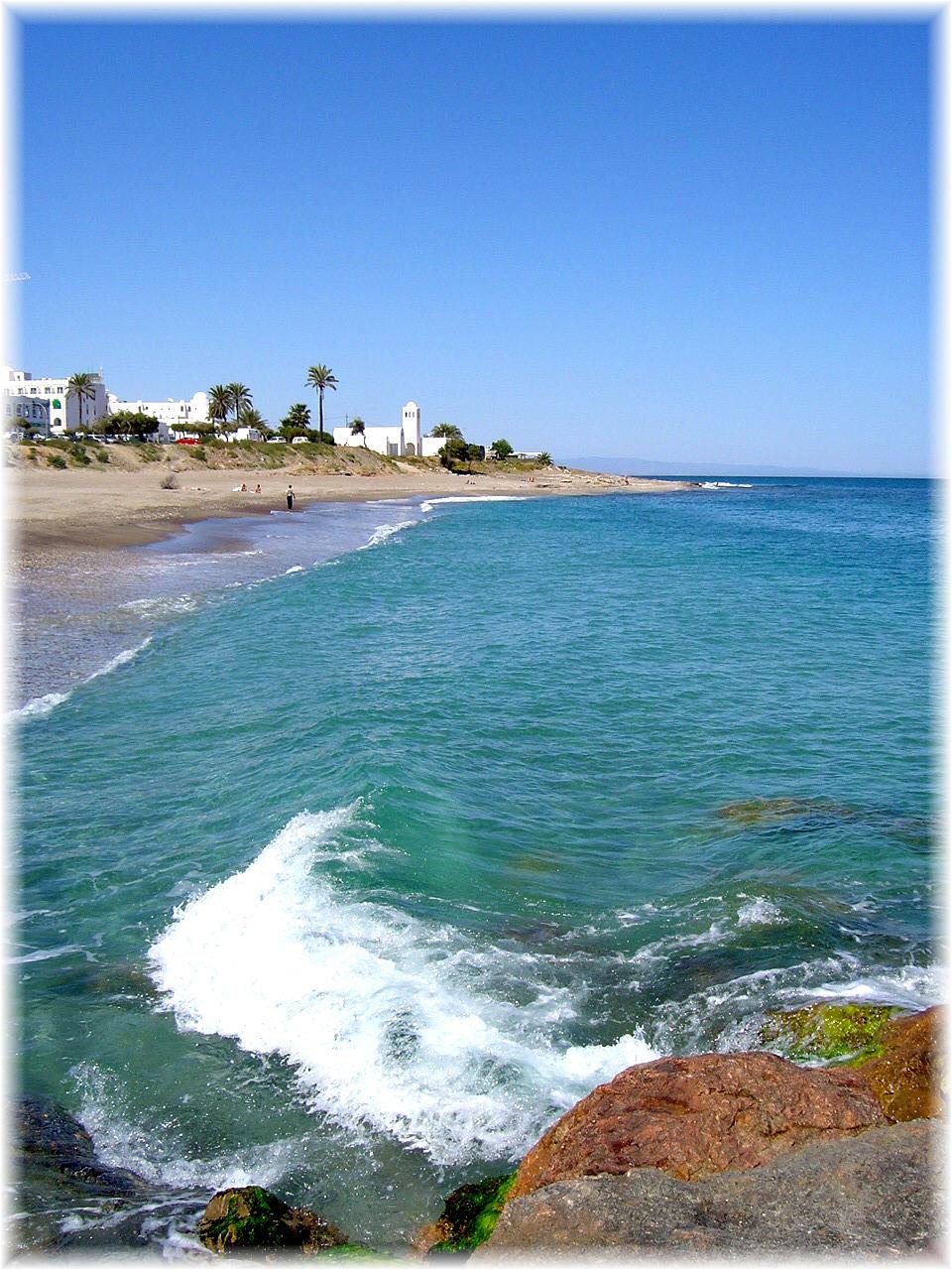 Foto playa El Descargador. Mojacar
