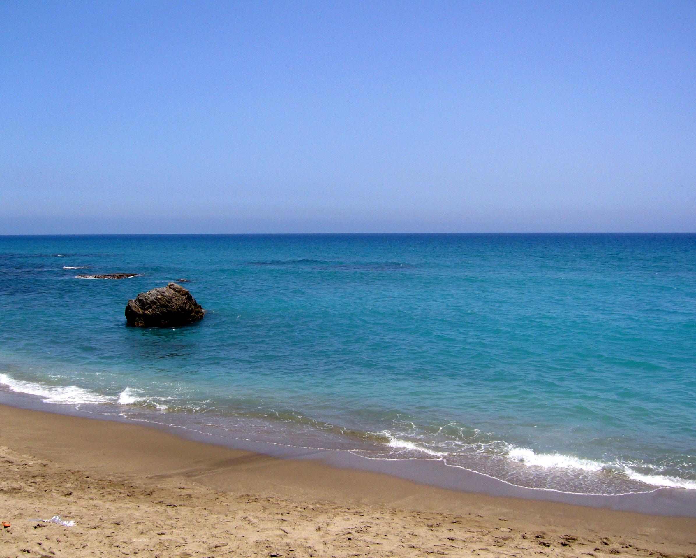 Foto playa El Descargador. Playa de Mojácar