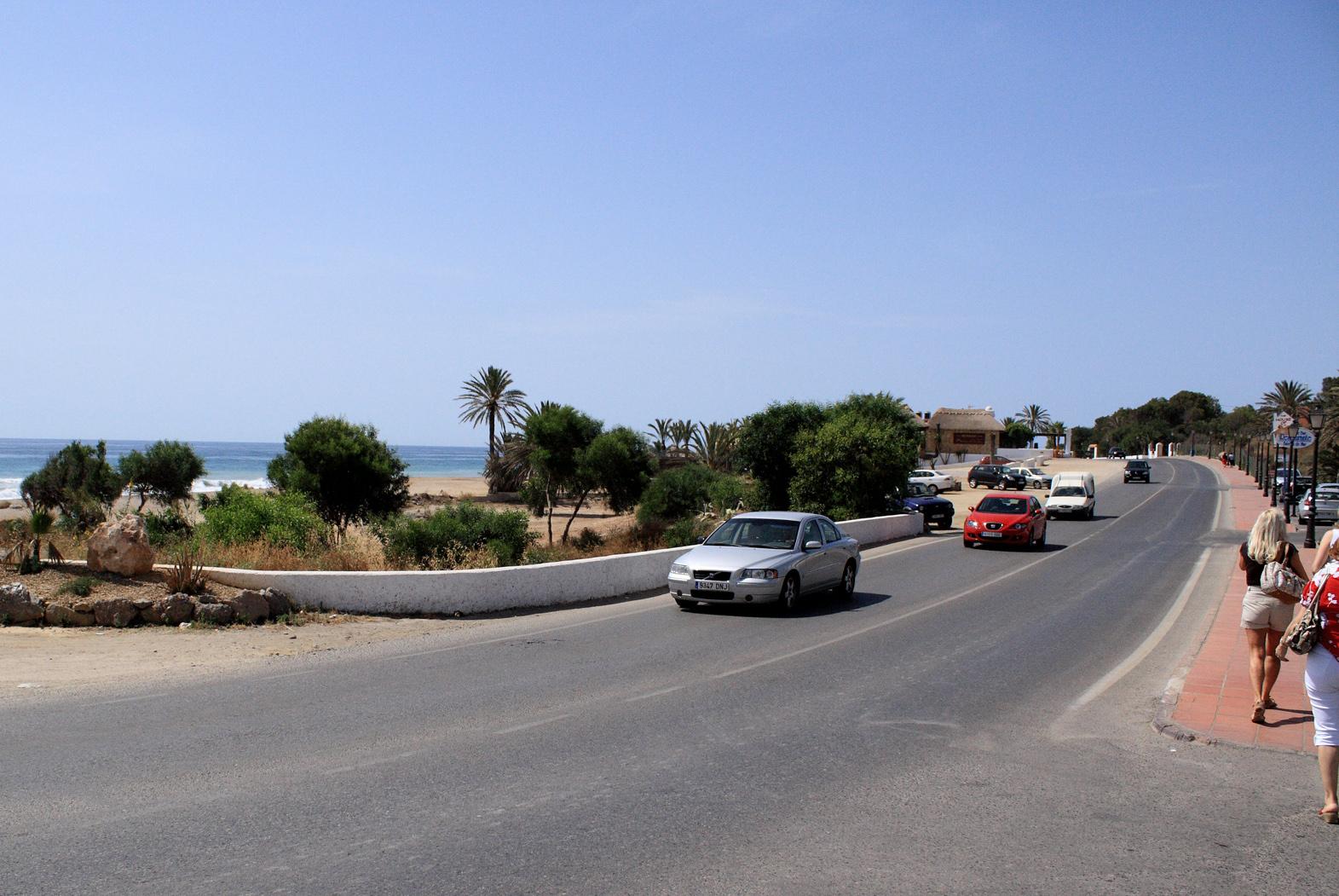 Foto playa Bordenares. Esquina de calle de La Rambla y AL-5105