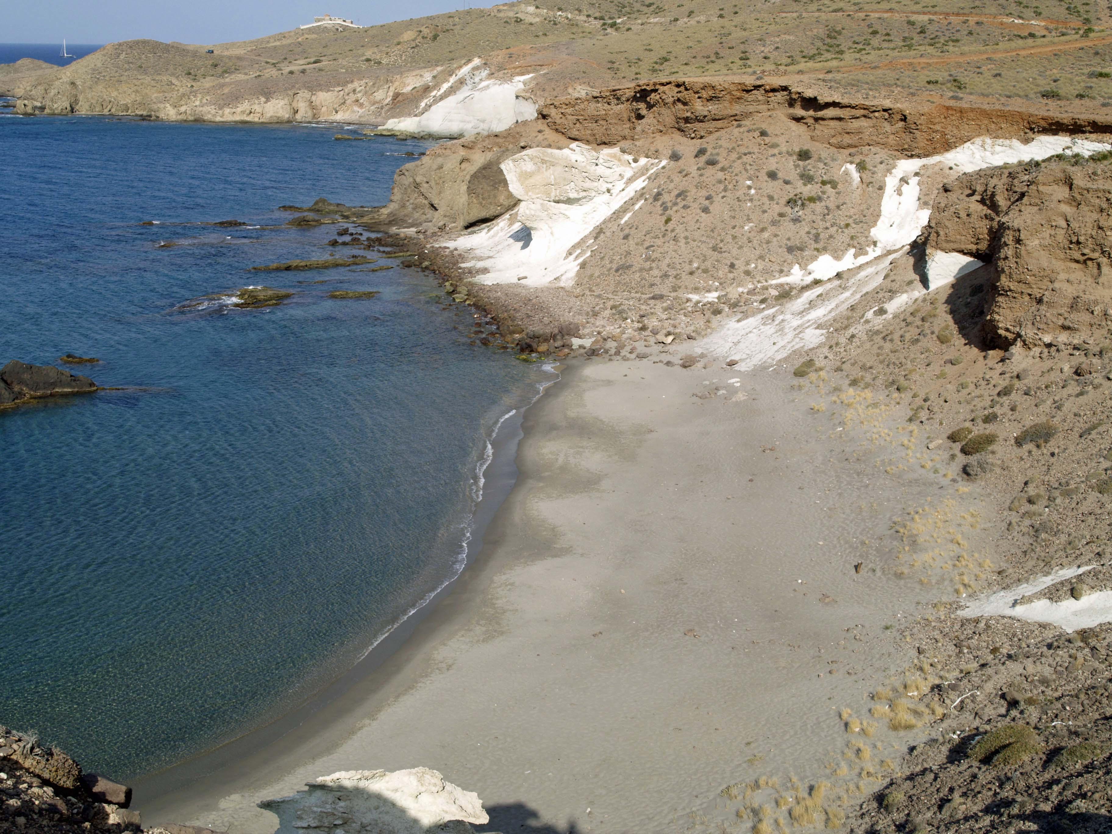 Foto playa El Sombrerico. Cala Rajá