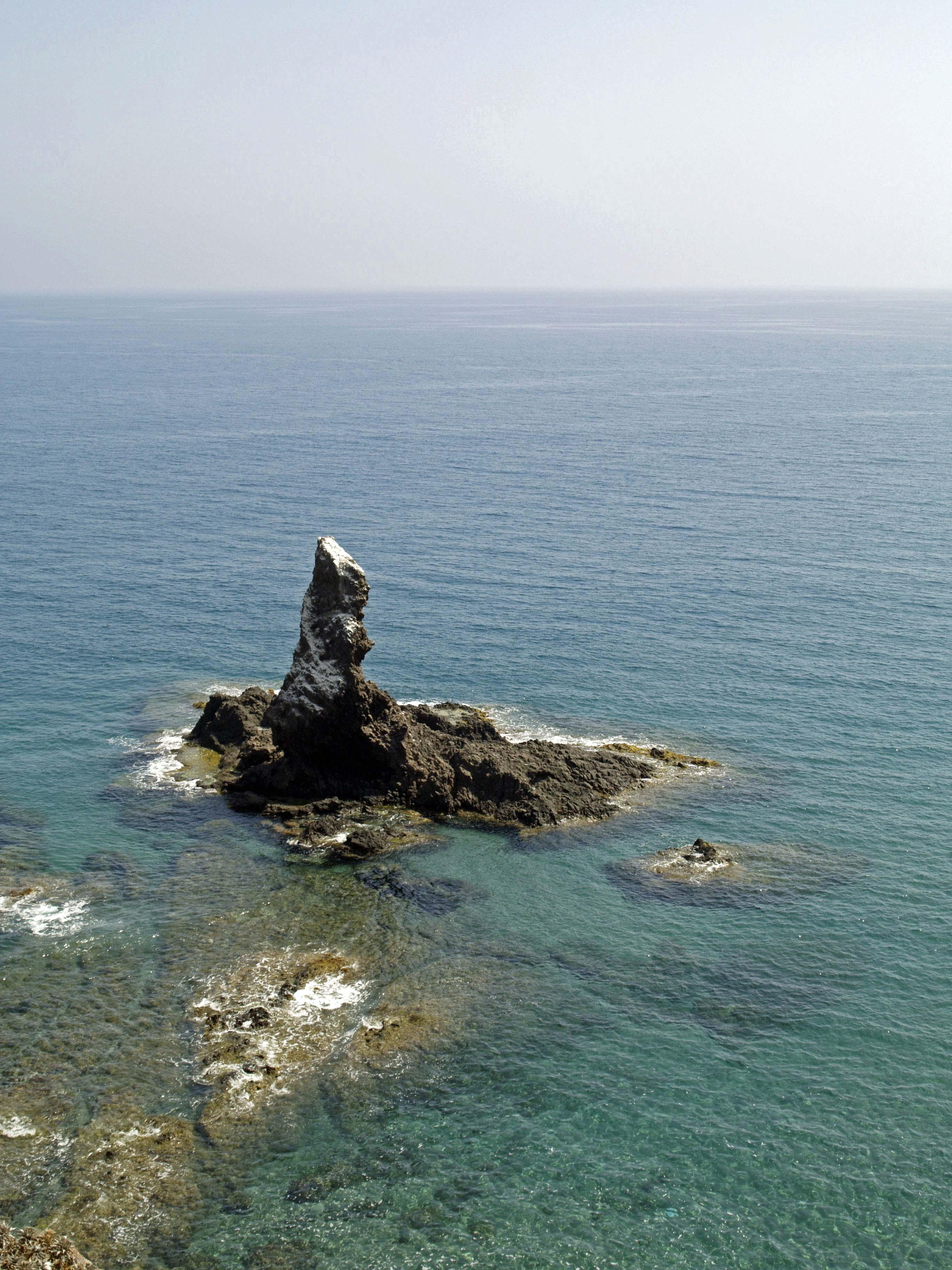 Foto playa El Sombrerico. Dedo de Dios