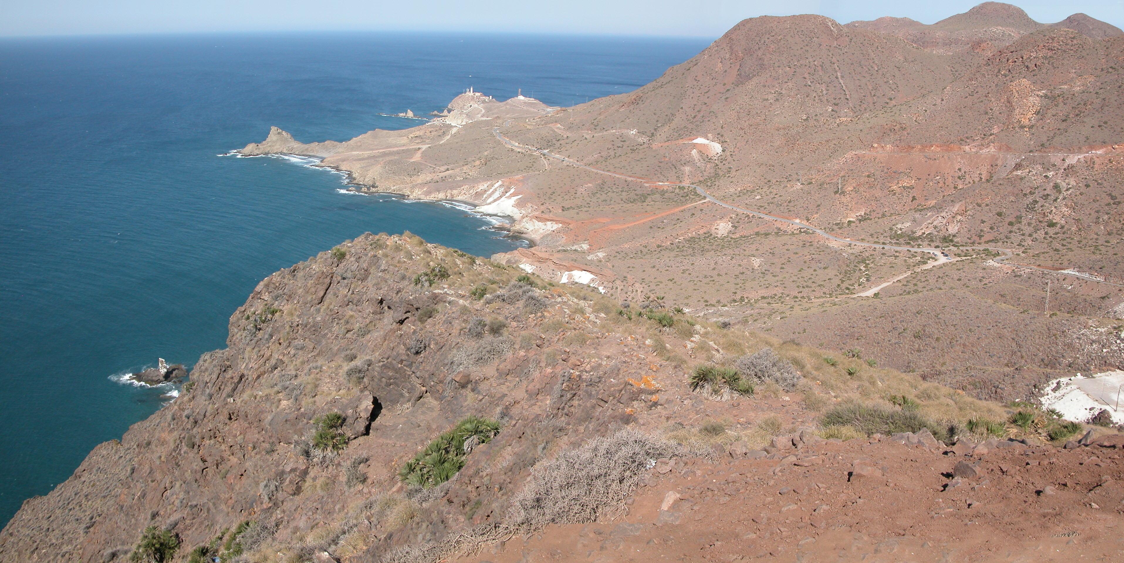 Foto playa El Sombrerico. Cabo de Gata / Sirenas