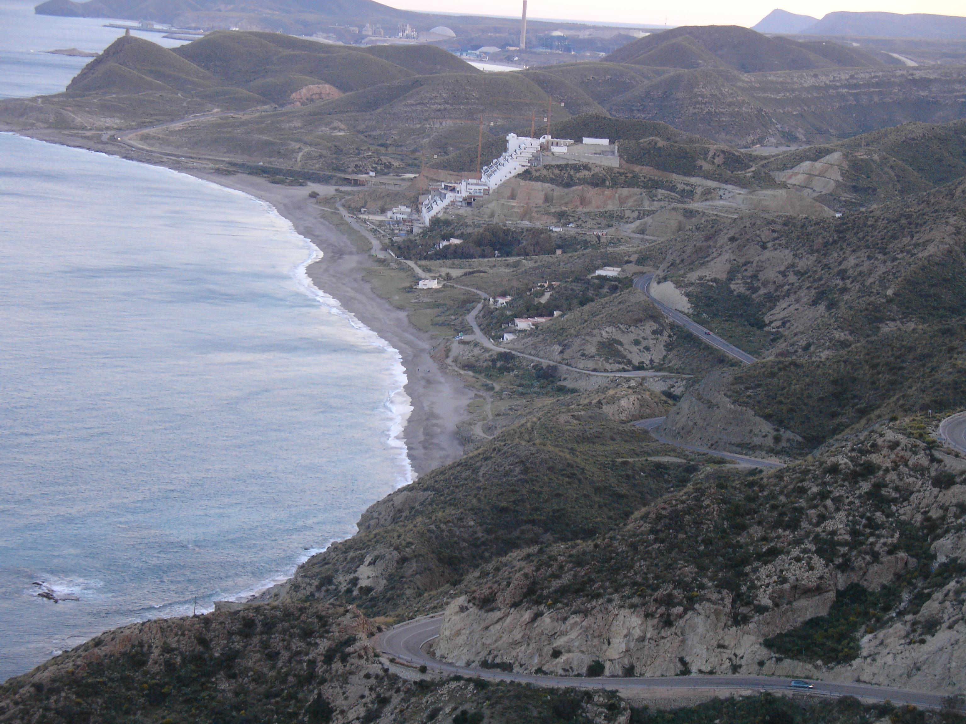 Foto playa El Algarrobico. Los Algarrobicos