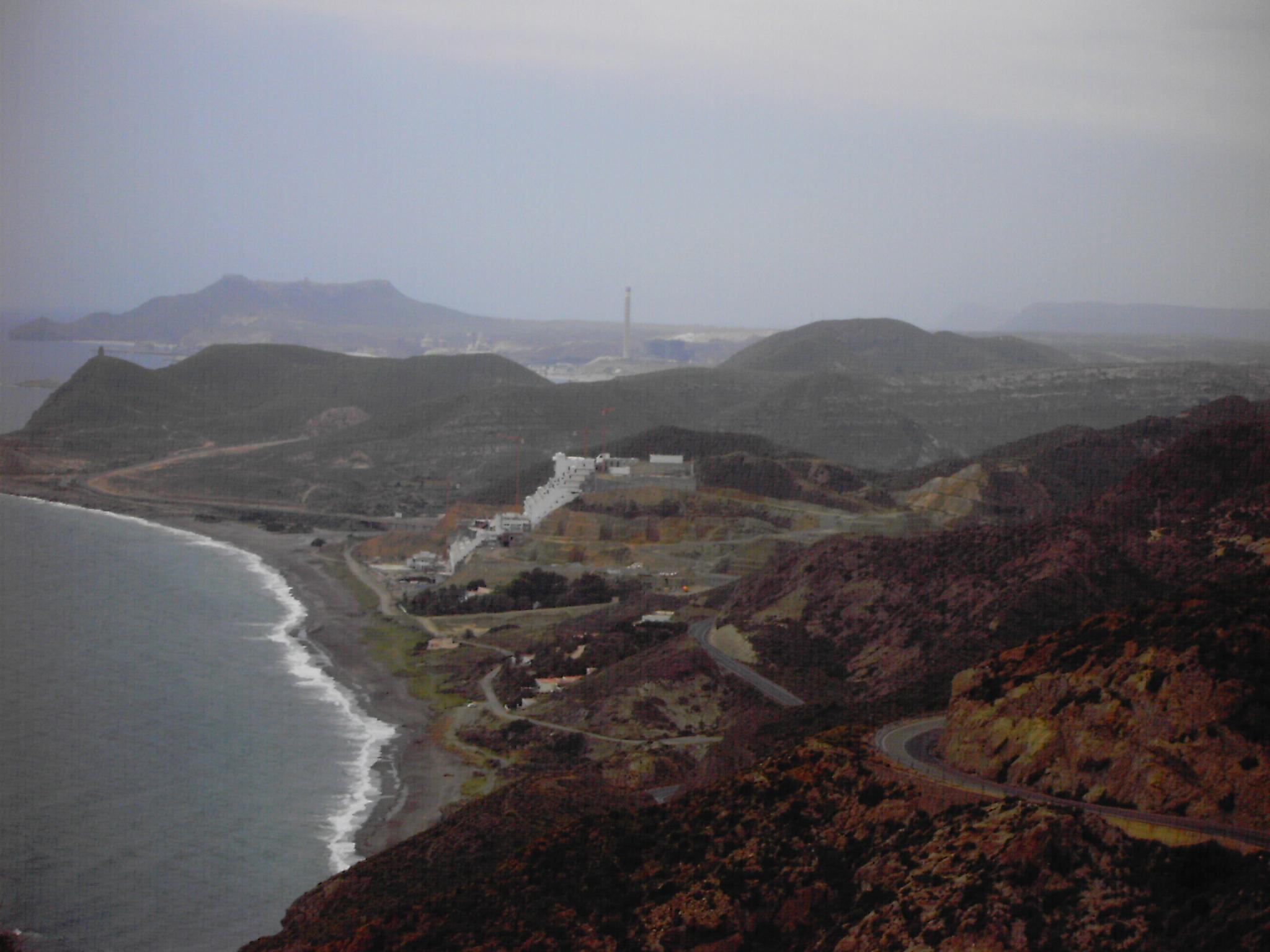 Foto playa El Algarrobico. hotel maldito-almeria