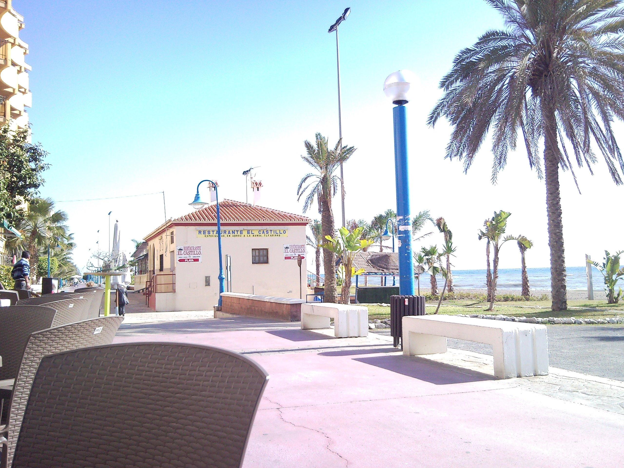 Foto playa Rincón de la Victoria. r de la victoria