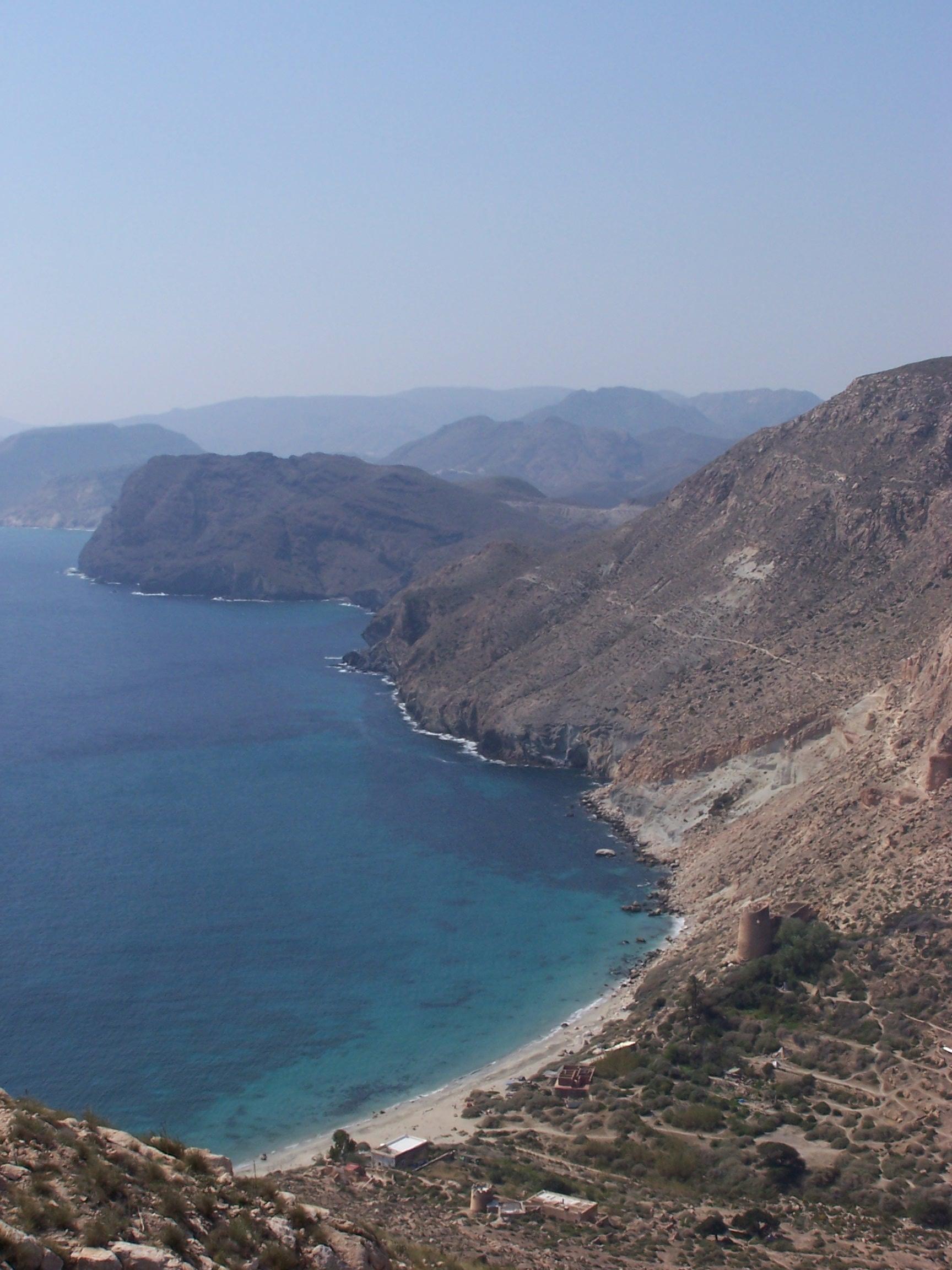 Foto playa Cala San Pedro. Cala de San Pedro desde Rellana de San Pedro