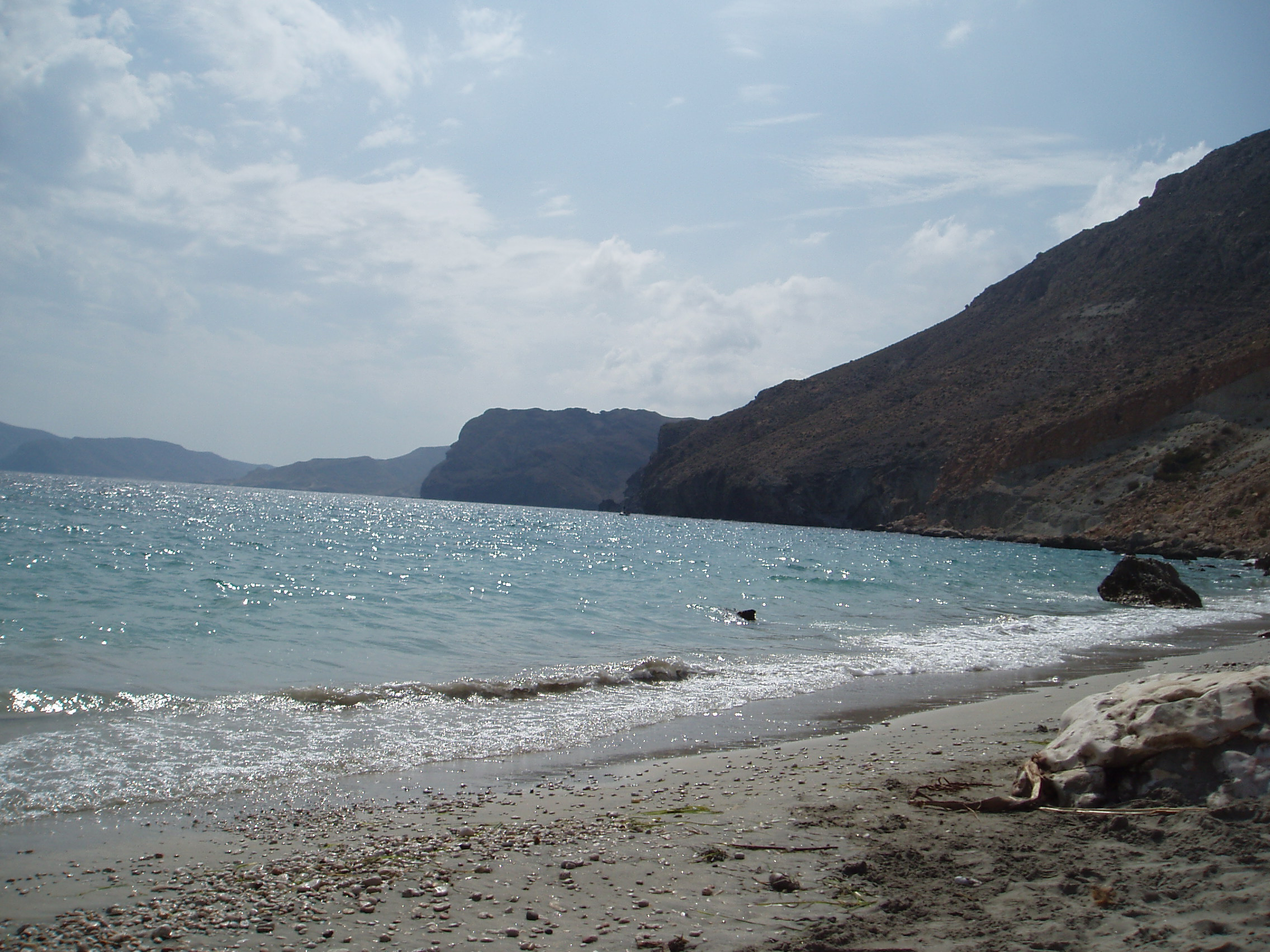 Foto playa Cala San Pedro. Desde San Pedro