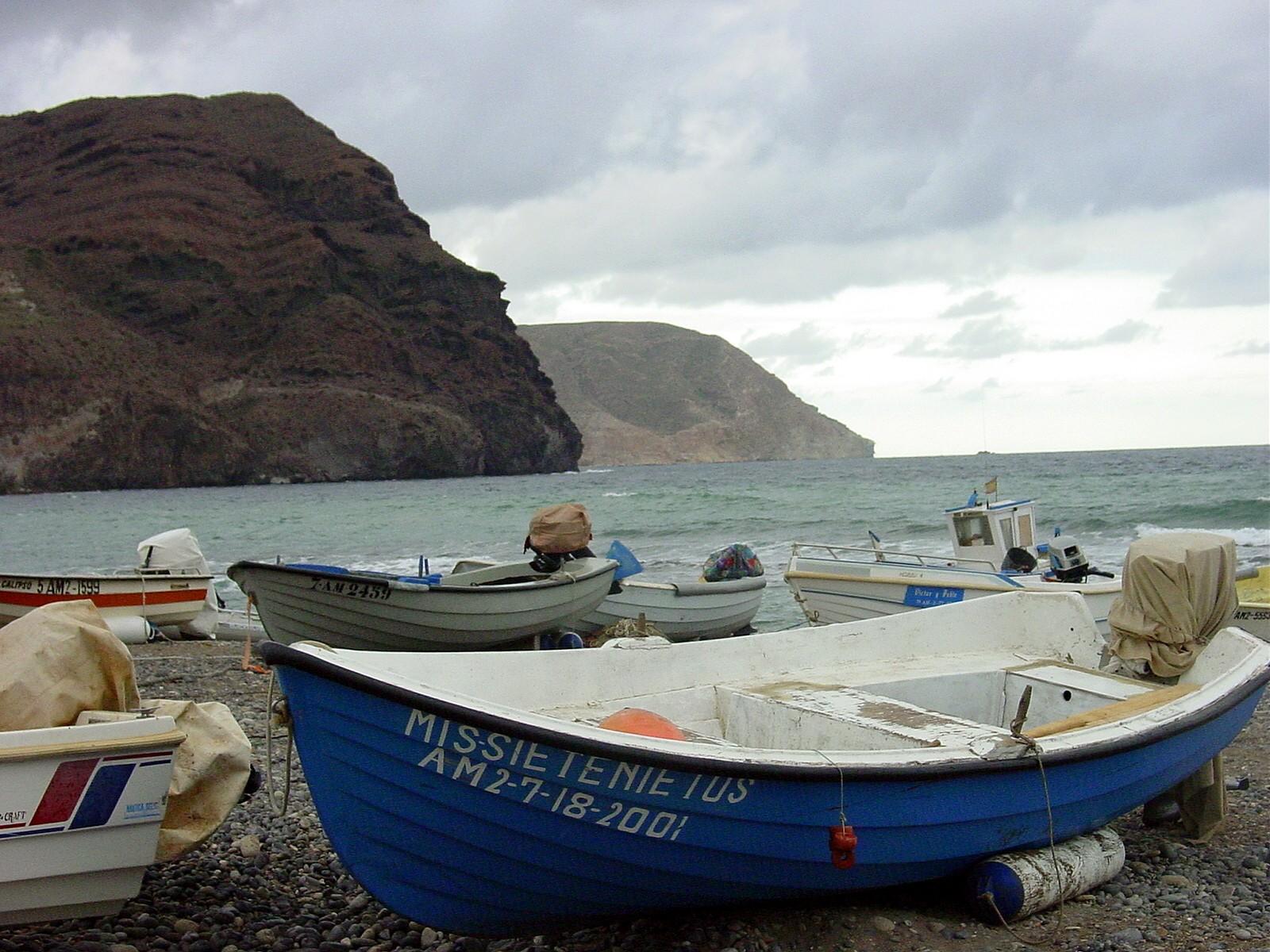 Foto playa Las Negras. Cabo de Gata N P : Las Negras Boats