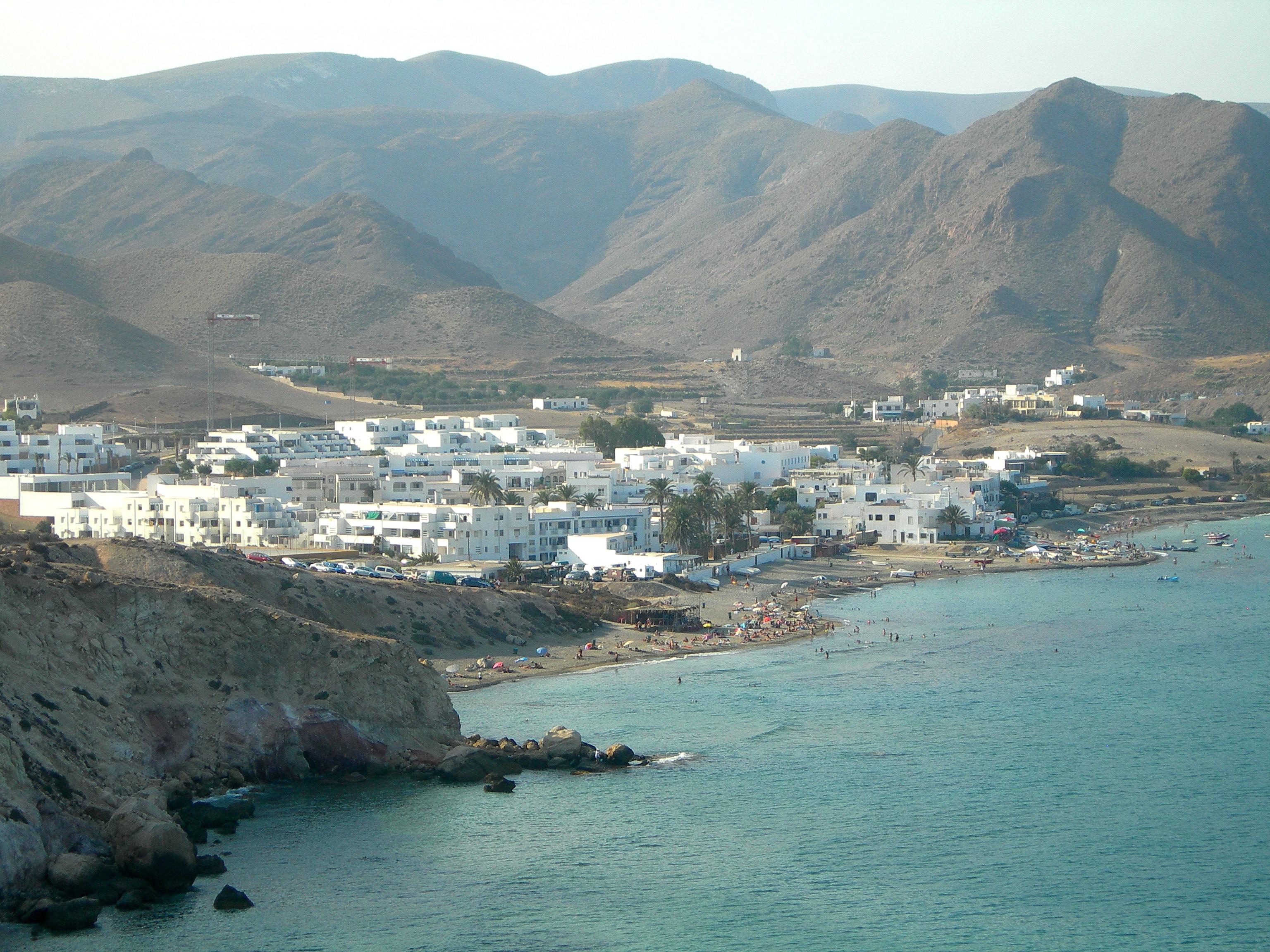 Foto playa Las Negras. Las Negras (Cabo de Gata)