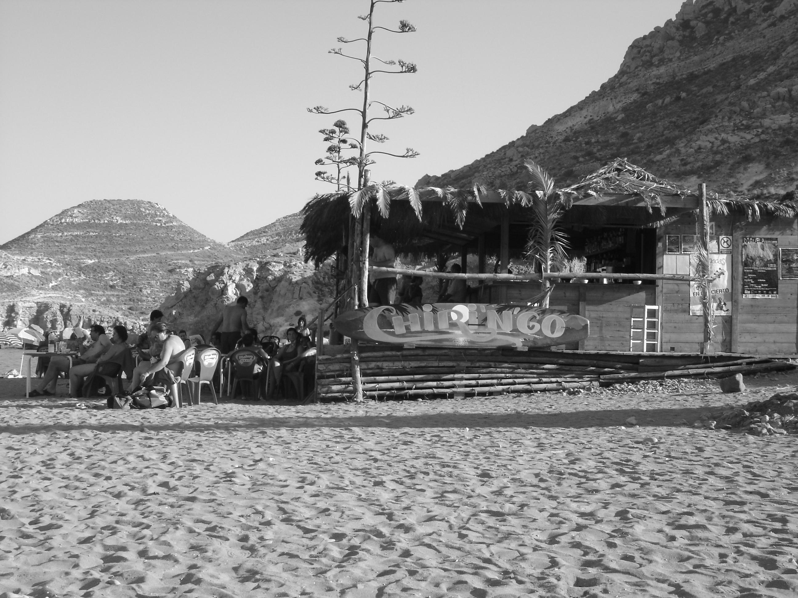 Foto playa Las Negras. LAS NEGRAS JUL
