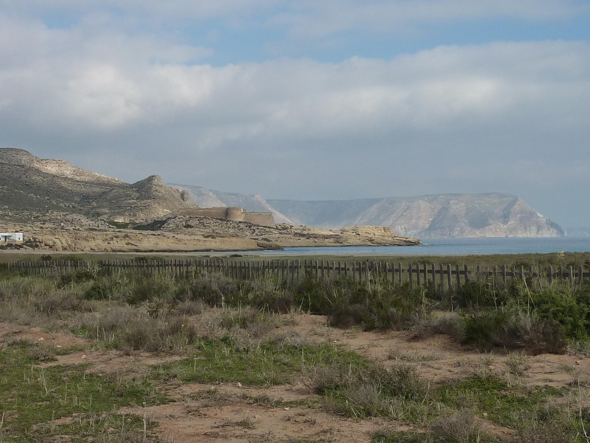 Foto playa Playazo de Rodalquilar. El Playazo en diciembre, 2009
