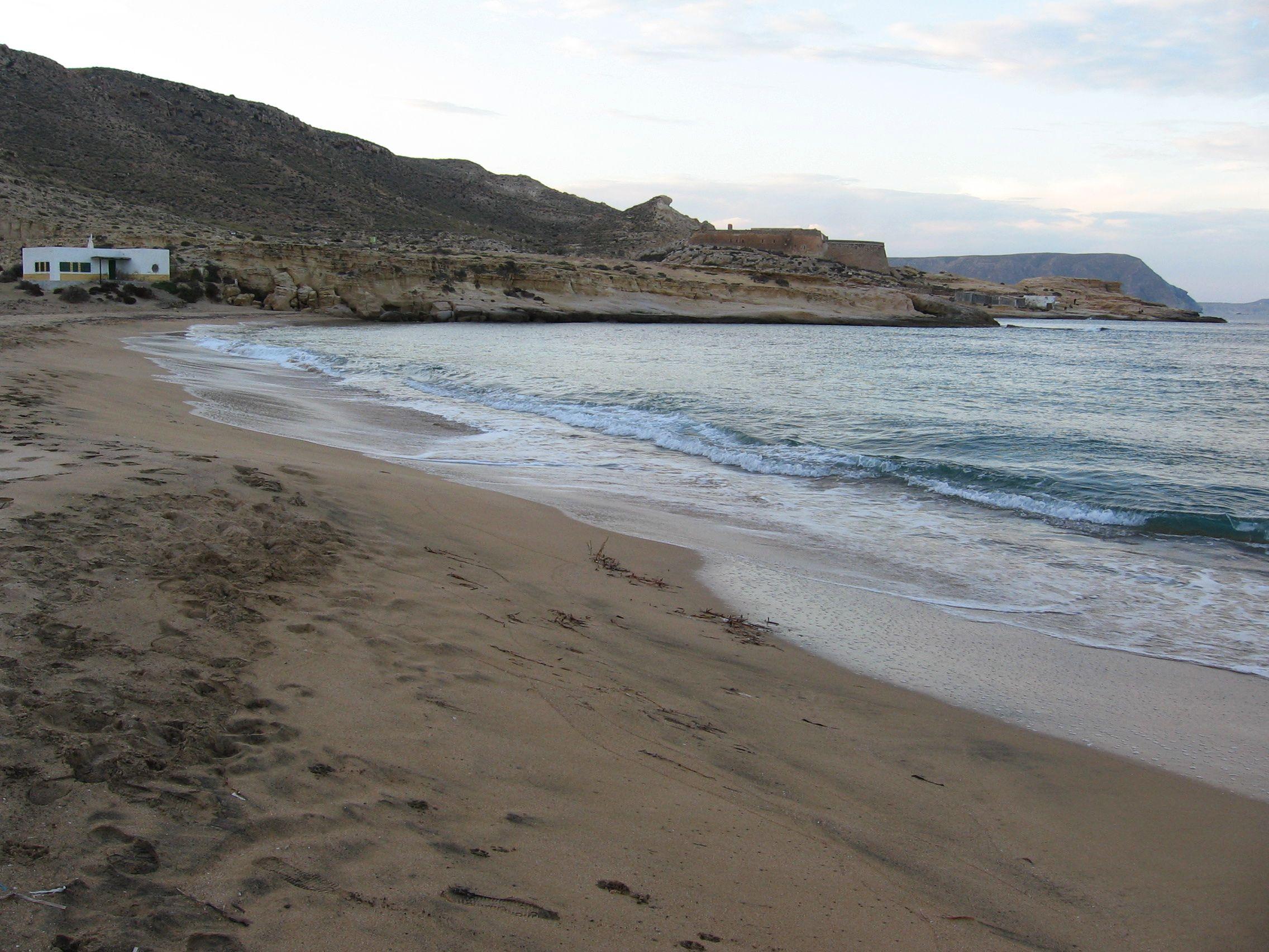 Foto playa Playazo de Rodalquilar. El Playazo