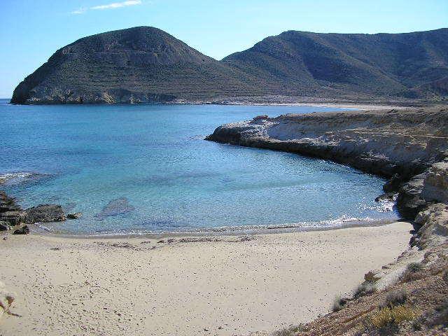 Foto playa Cala del Cuervo. El Playazo de Rodalquilar Cabo de Gata P1290194