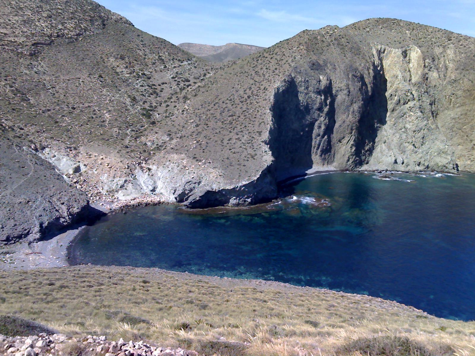Foto playa Cala de la Polacra. Cala del Bergantin