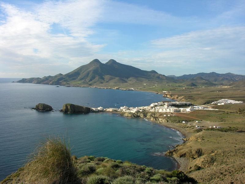 Foto playa Peñón Blanco / Isleta del Moro. La Isleta del Moro