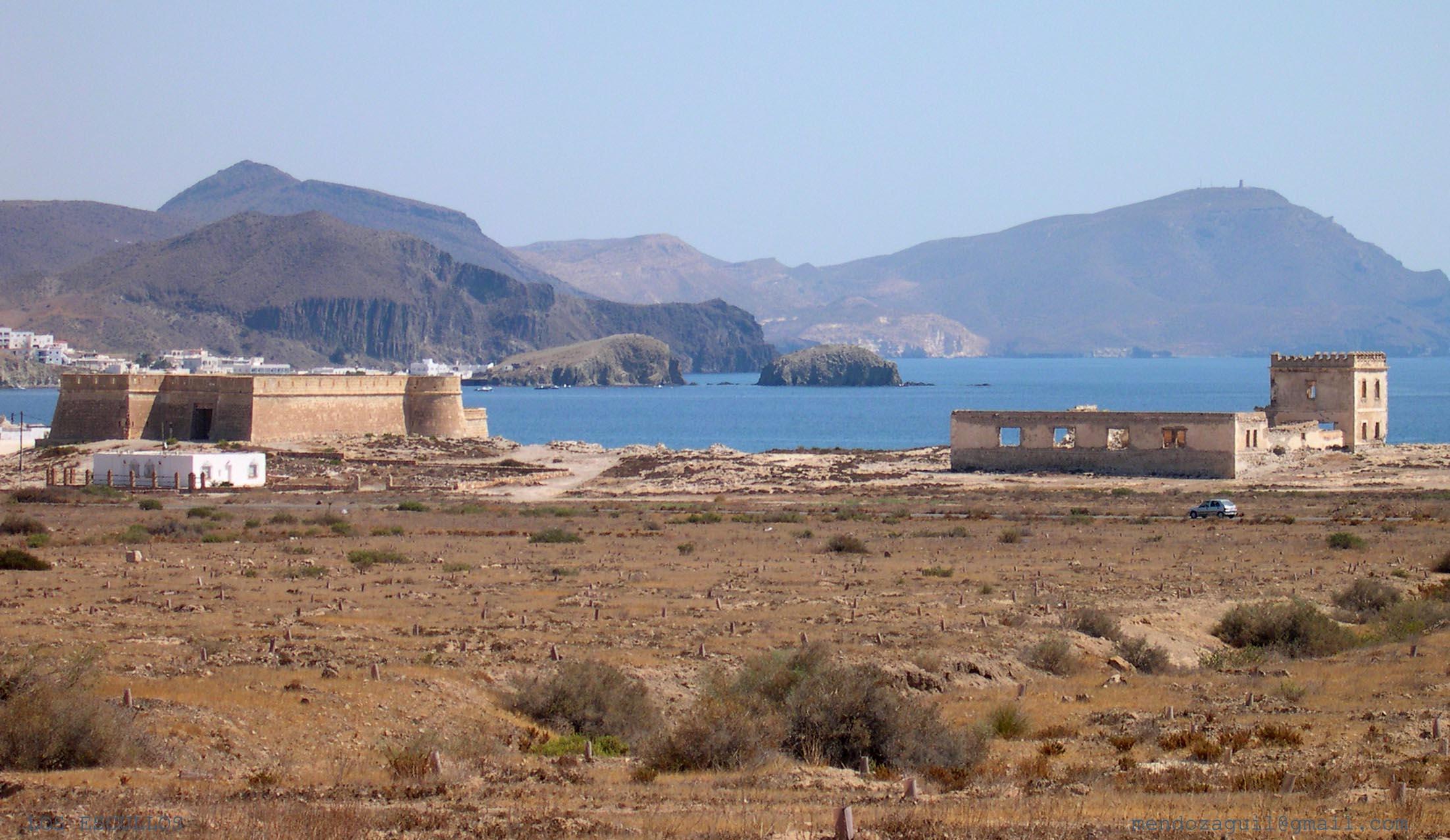 Playa El Arco / Los Escullos