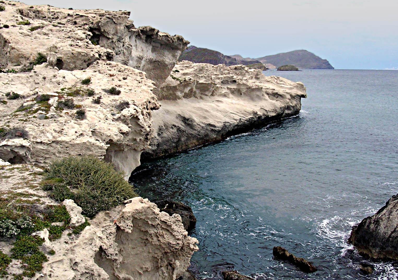 Foto playa El Arco / Los Escullos. Los Escullos, Almería