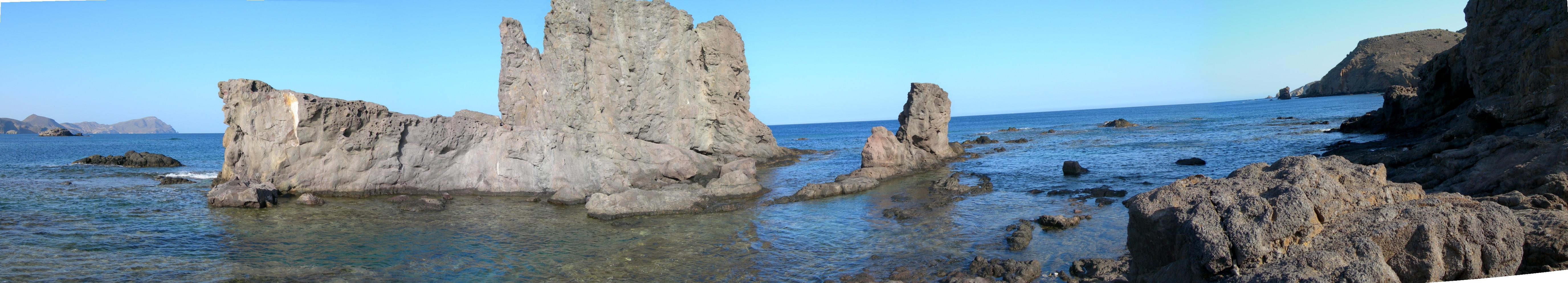 Foto playa El Arco / Los Escullos. Los Escullos