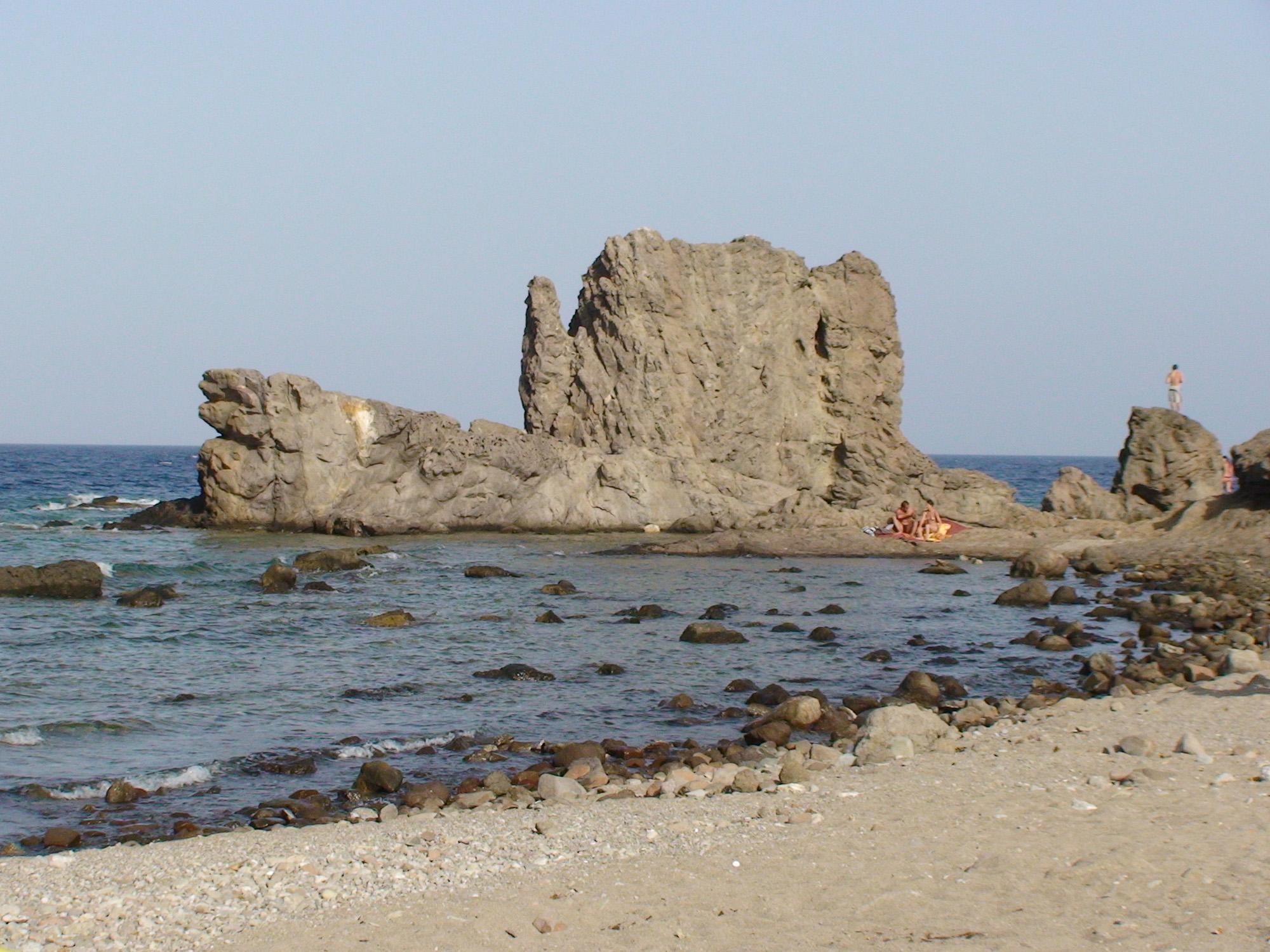 Foto playa El Embarcadero / El Esparto. Cala en los Escullos