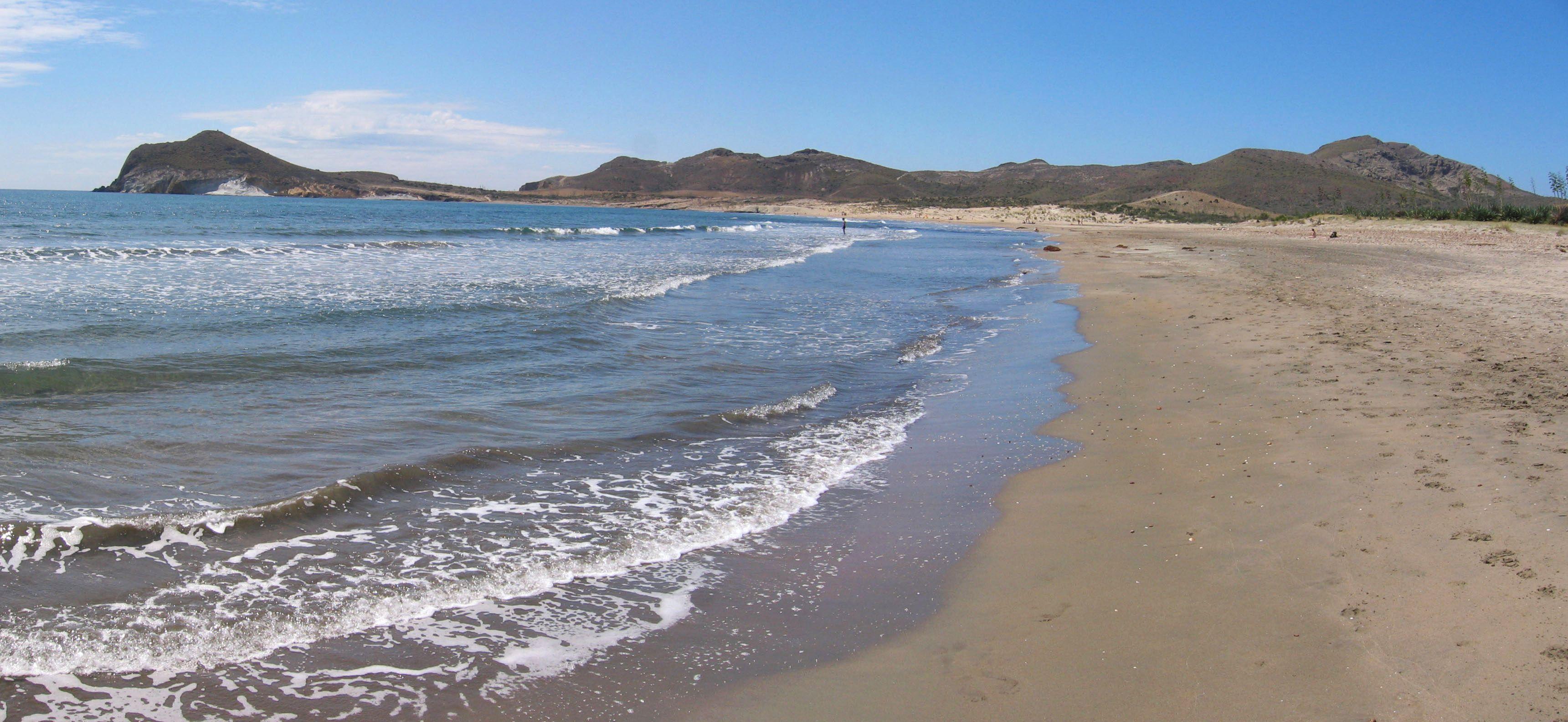 Foto playa Cala Higuera. Panorámica - Playa de los Genoveses