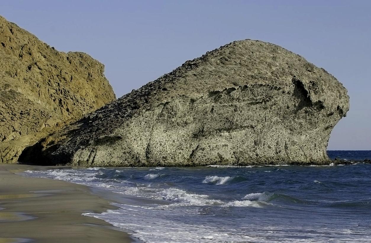 Foto playa Cala del Barronal. Playa de Mónsul