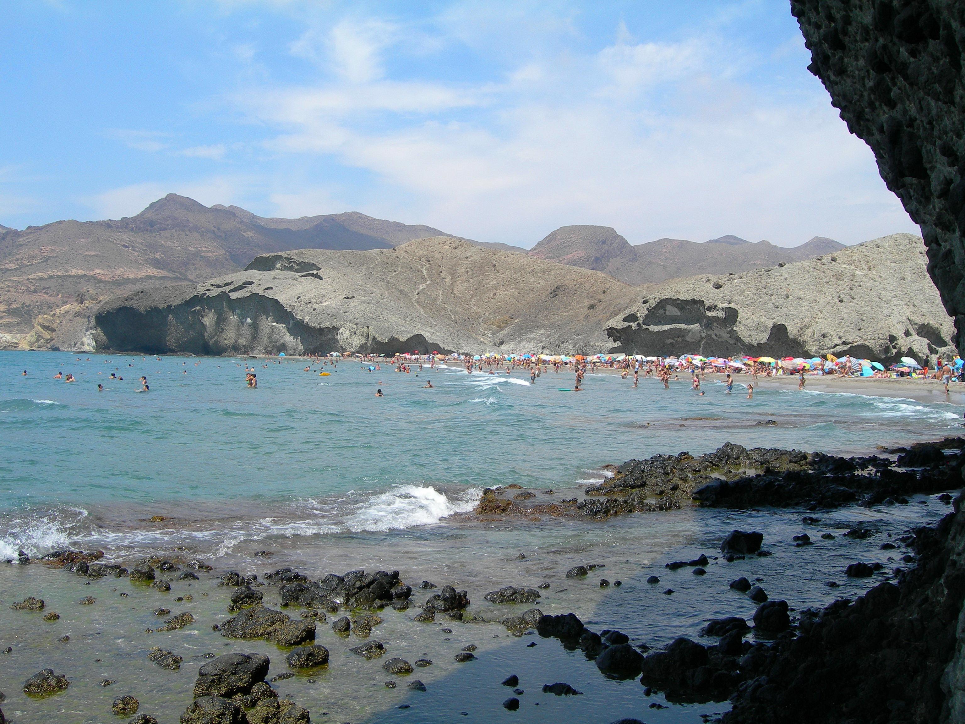 Foto playa Cala del Barronal. Cabo de Gata 2