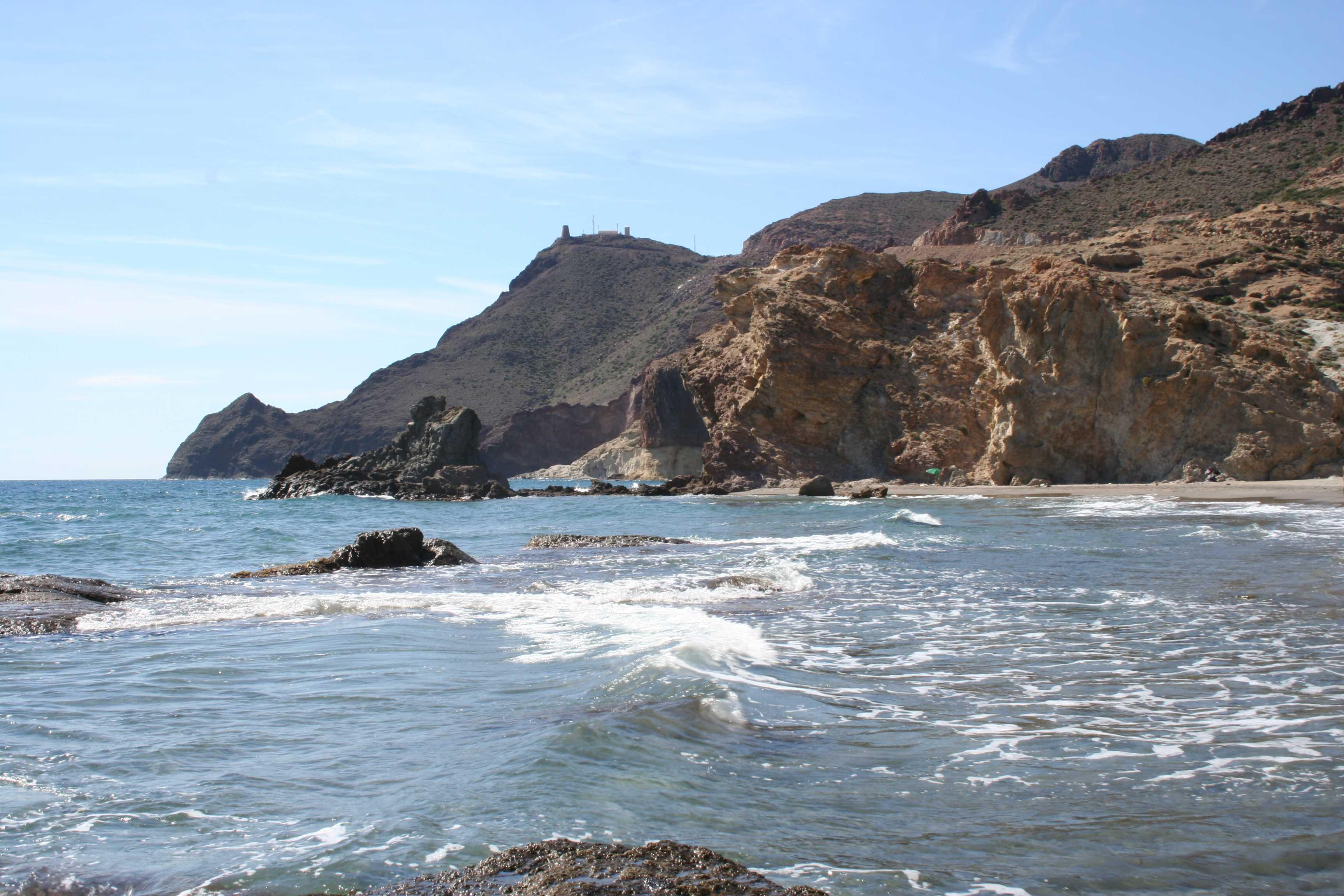 Foto playa Cala del Barronal. Cabo de Gata 2006 015