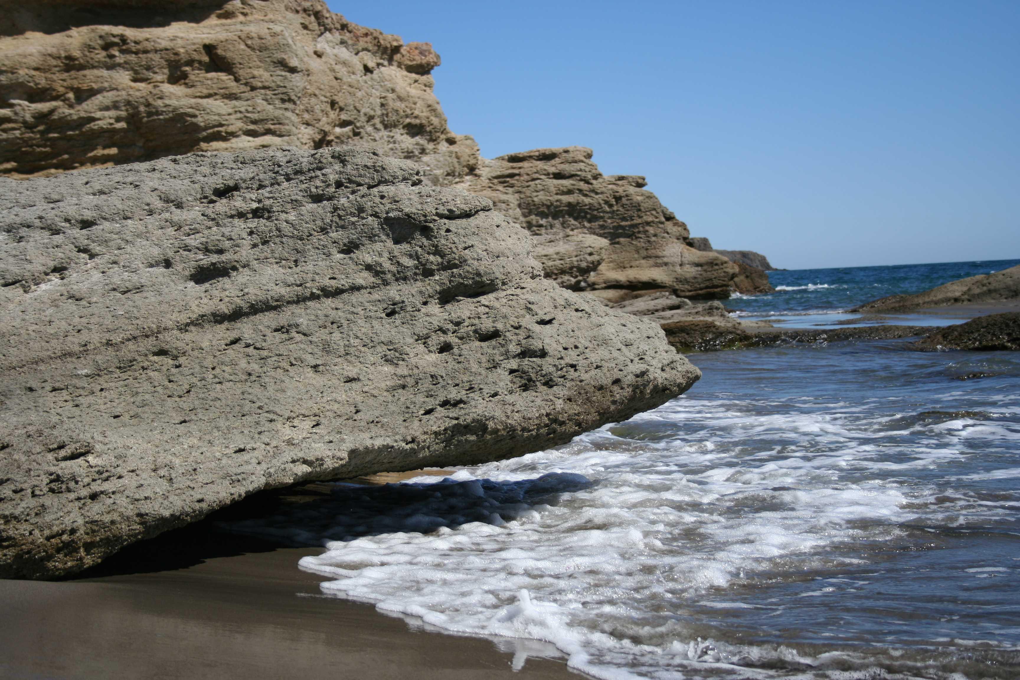 Foto playa Cala del Barronal. Cabo de Gata 2006 020