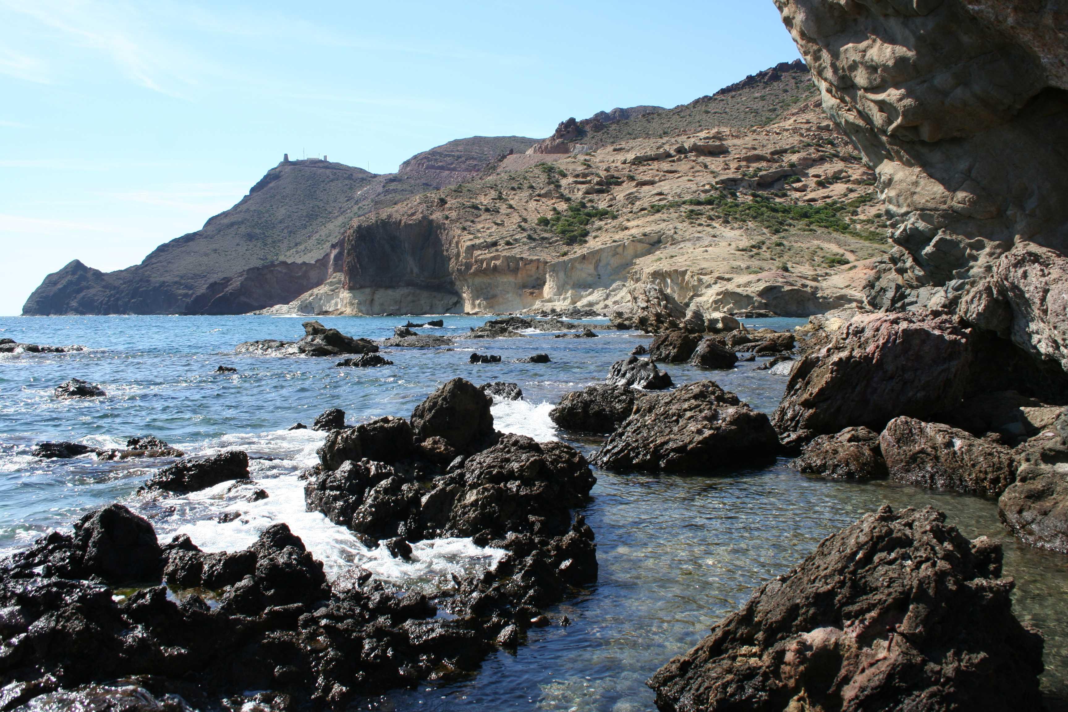 Foto playa Cala del Barronal. Cabo de Gata 2006 021