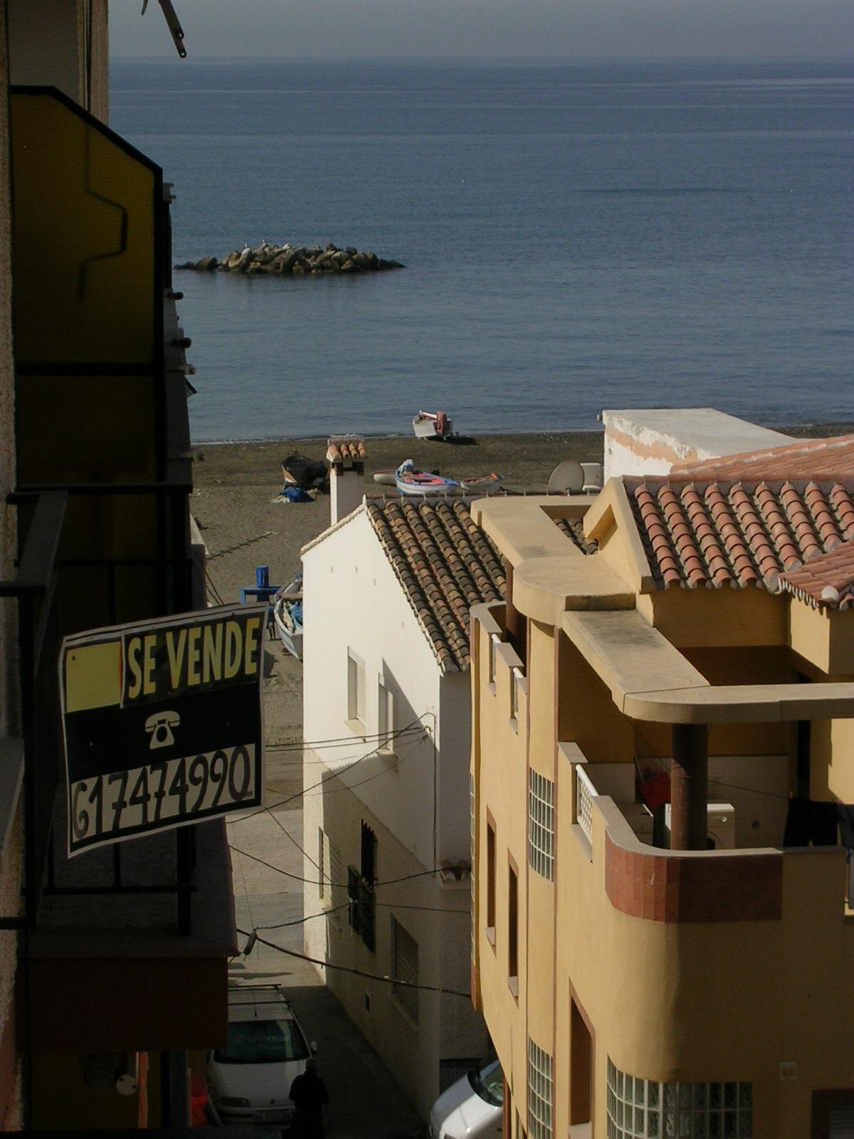 Foto playa Cala del Moral. vista del depto diurna