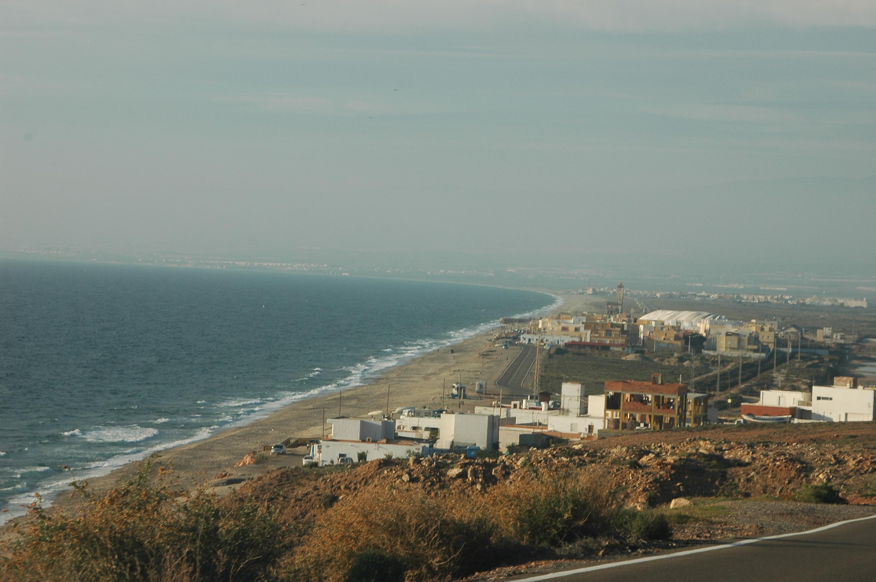 Foto playa La Almadraba de Monteleva. la fabriquilla y su playa