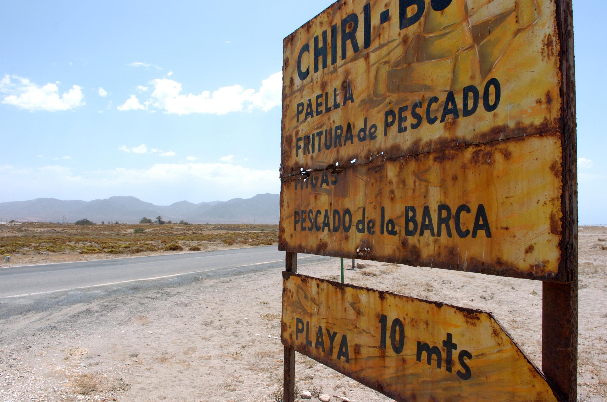 Foto playa Las Salinas de Cabo de Gata. DSC_1481 cabo de gata