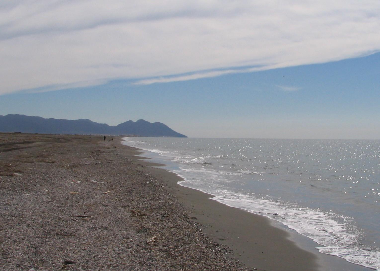Foto playa Las Amoladeras. Paseo por la playa
