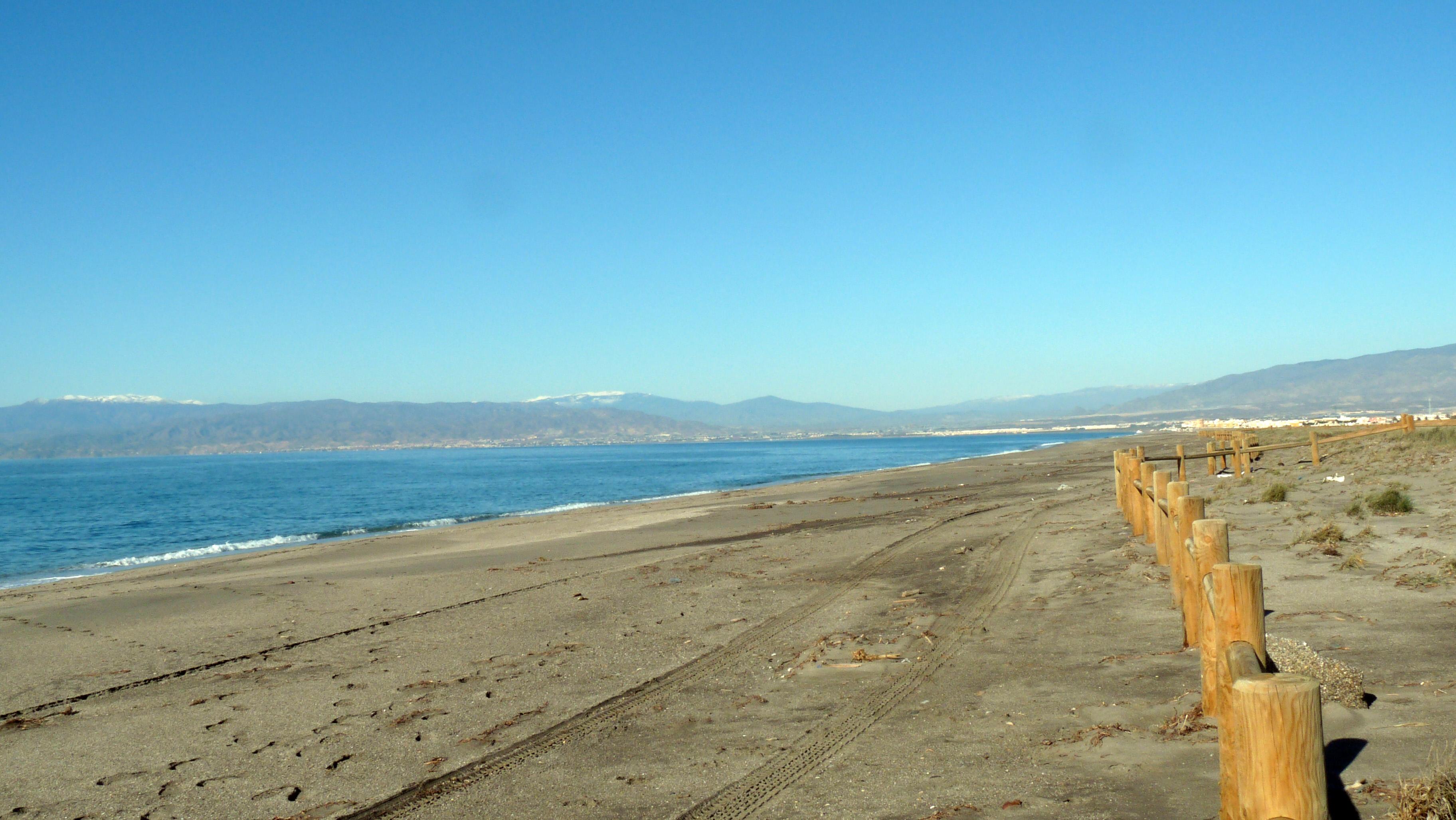 Foto playa Las Amoladeras. Playa de Cabo de Gata