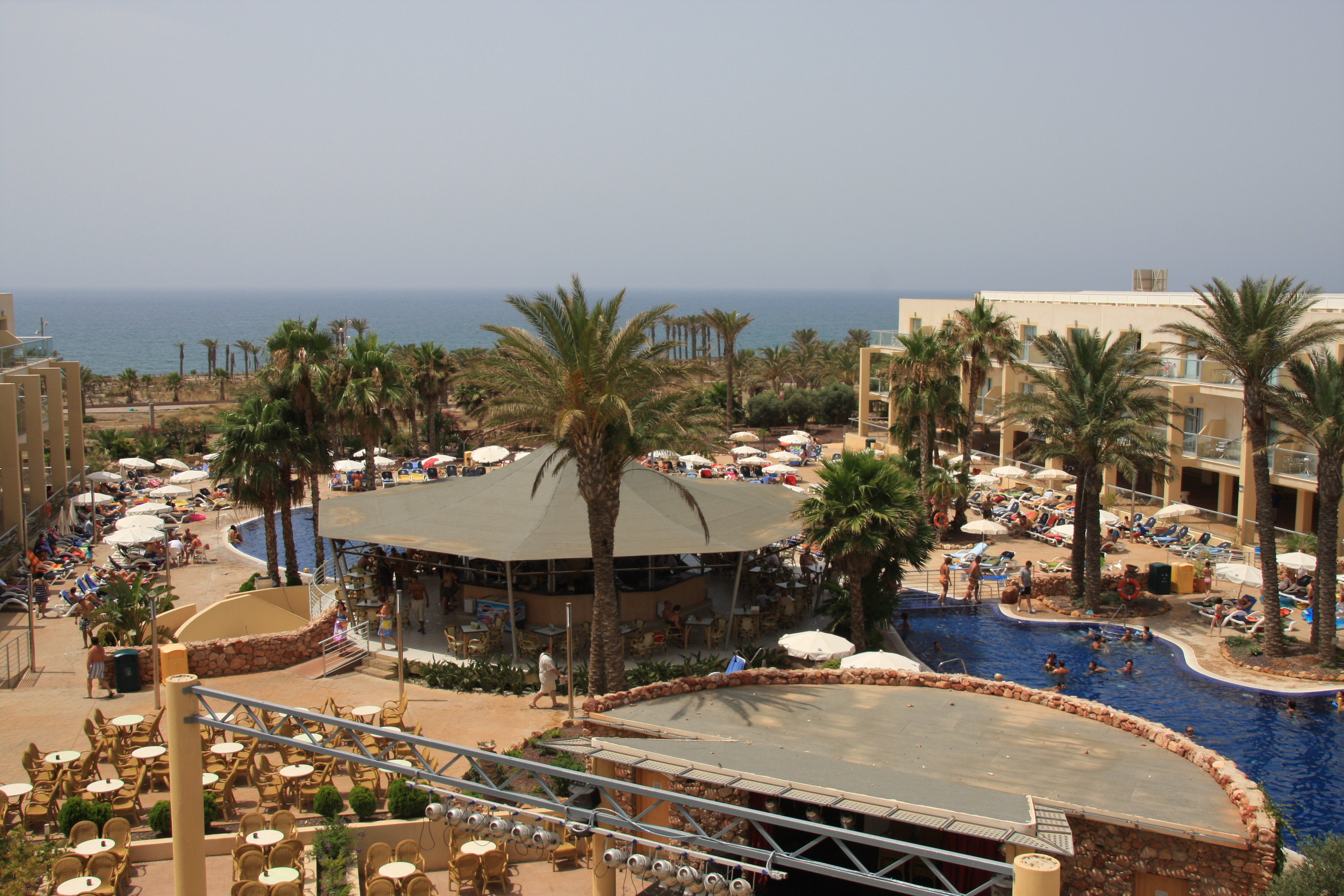 Foto playa El Toyo. Cabogata Garden.El Toyo (Almeria).