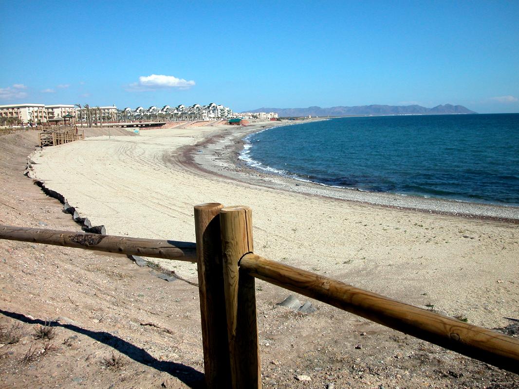 Foto playa El Toyo. El Toyo, Retamar, playas