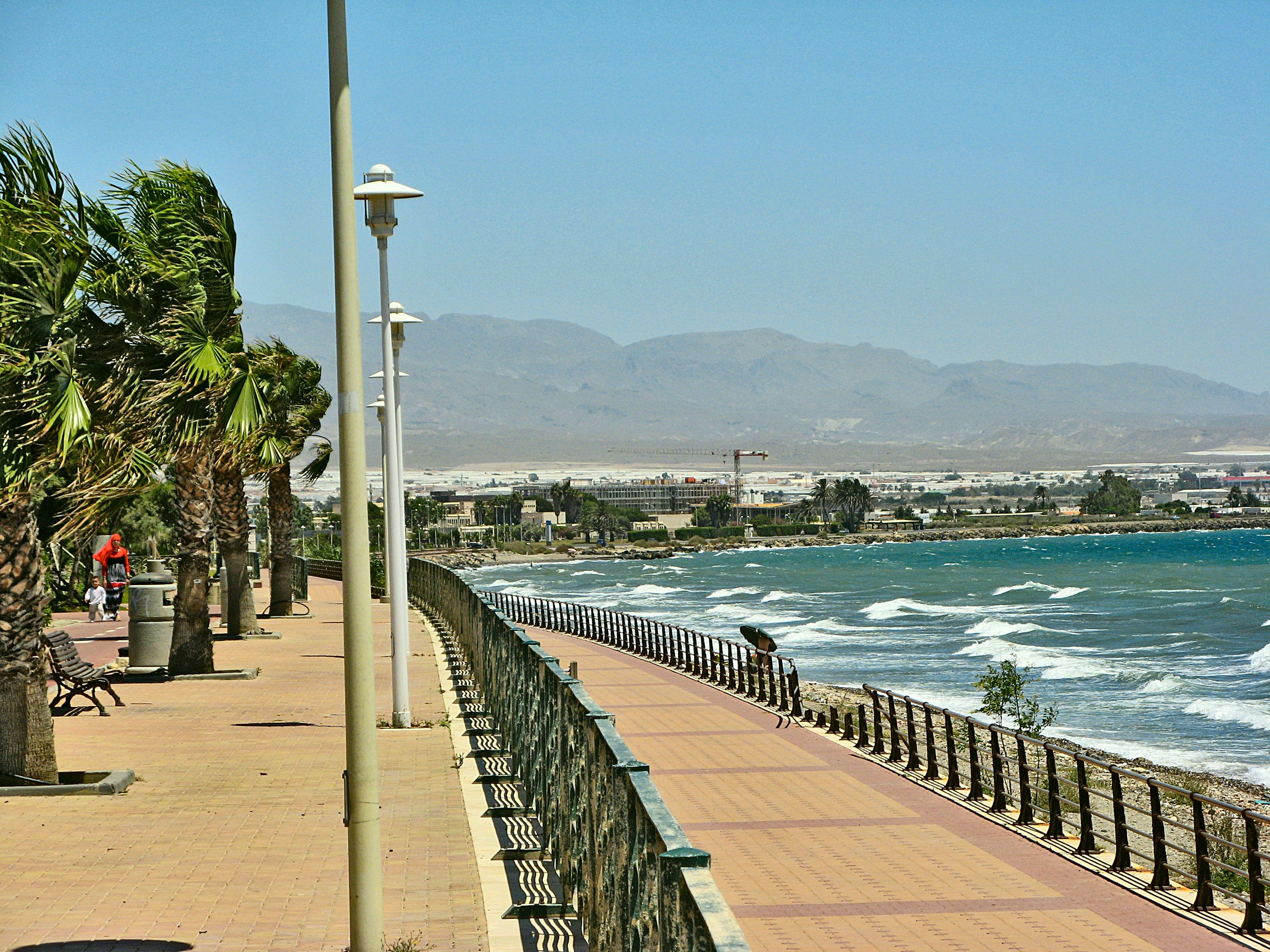 Foto playa El Bobar / La Cañada. Seaside near Almeria