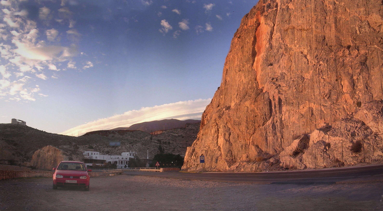 Foto playa La Garrofa / Camping de La Garrofa. Almería, El Cañarete-8.XII.2007