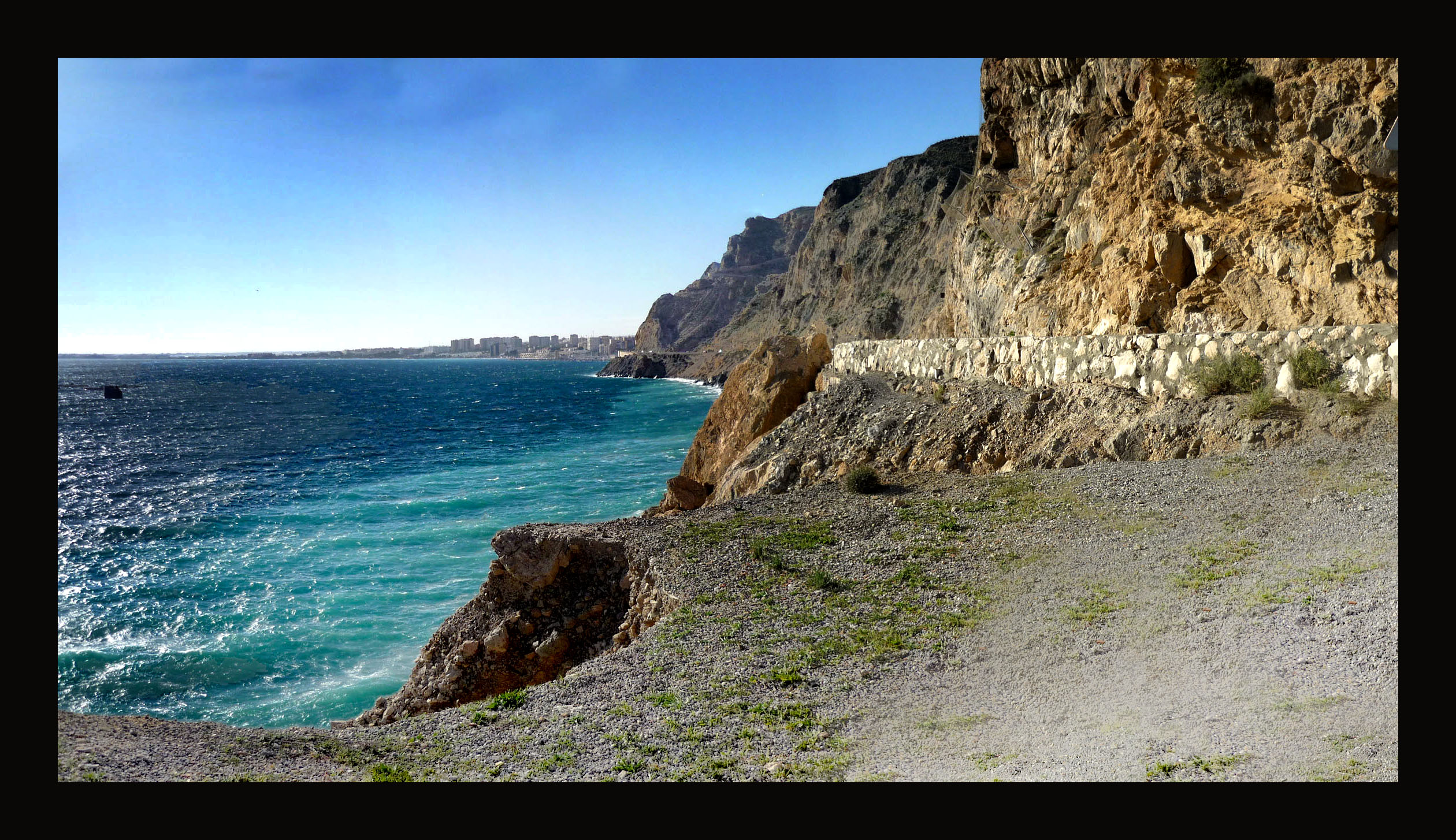Foto playa El Palmer / La Parra. El Cañarete-(Almería)_28.nov.2008_1