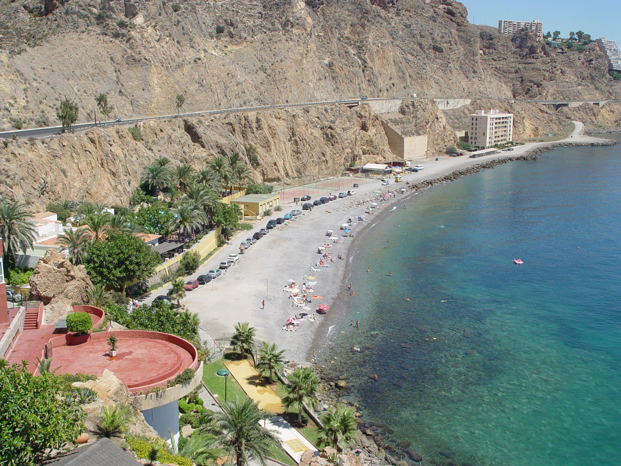 Foto playa El Palmer / La Parra. Playa Tropical - Aguadulce