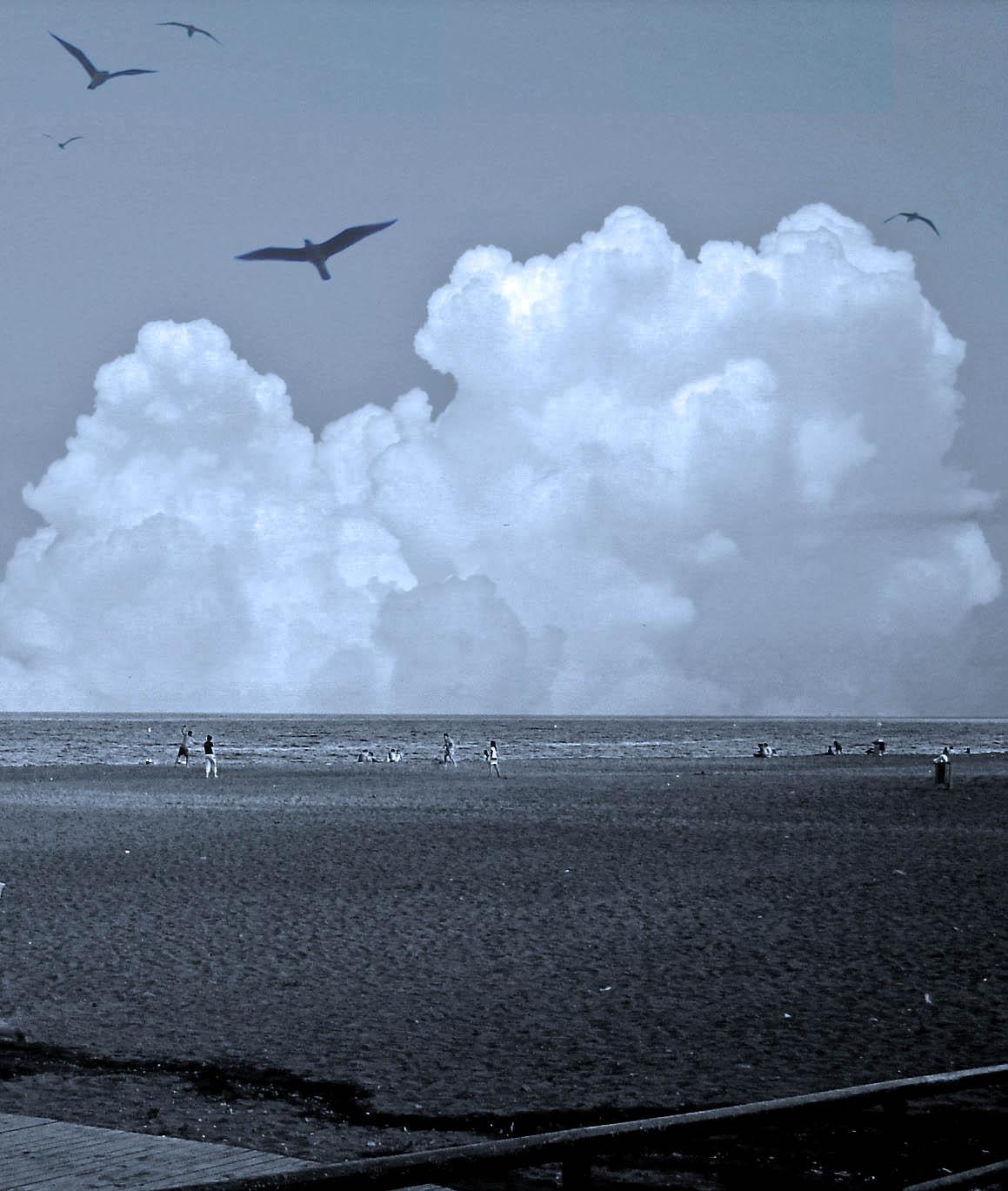 Foto playa El Candado. Dia de playa