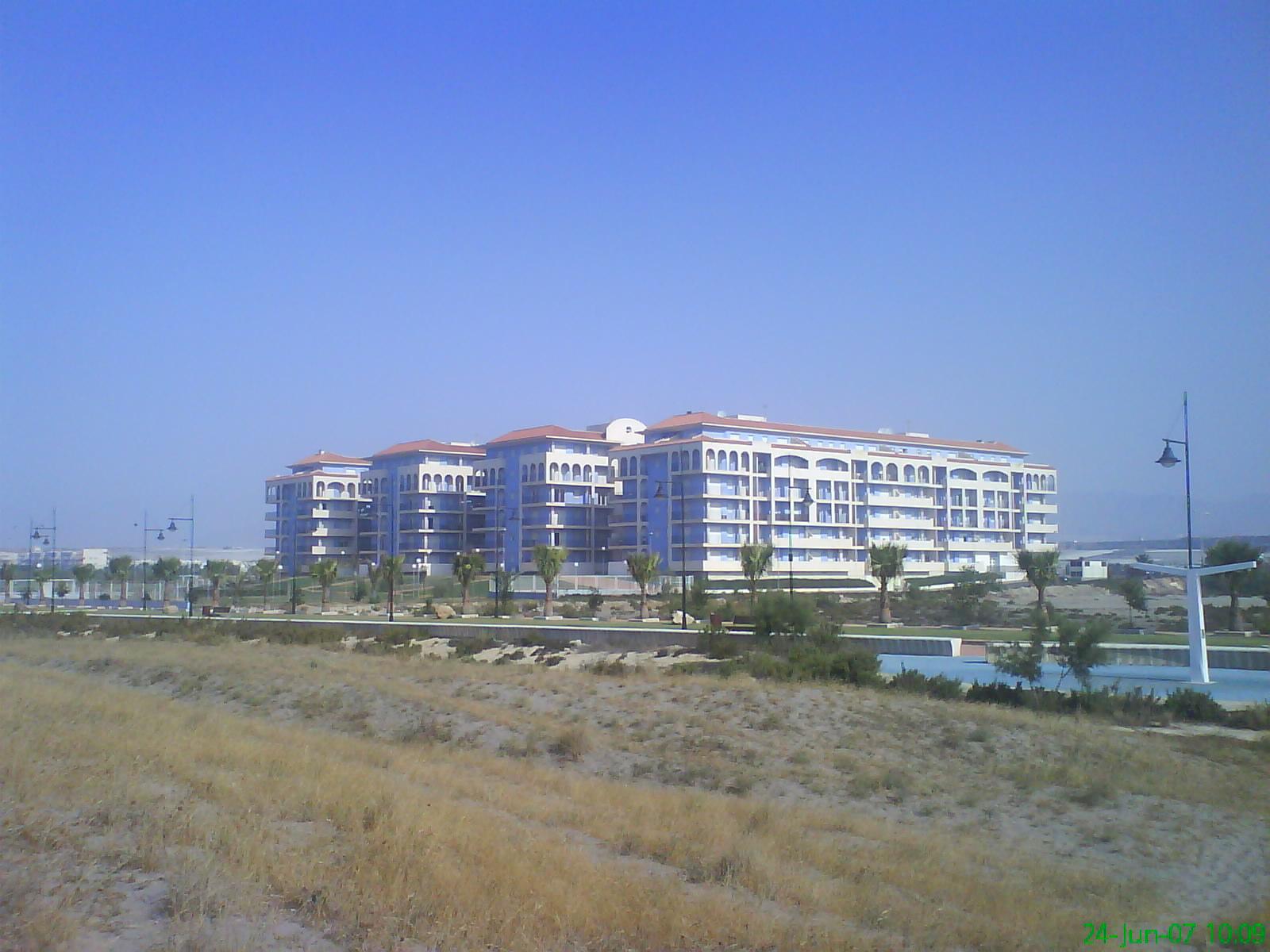 Foto playa Poniente Almerimar. Lago Victoria Almerimar 001