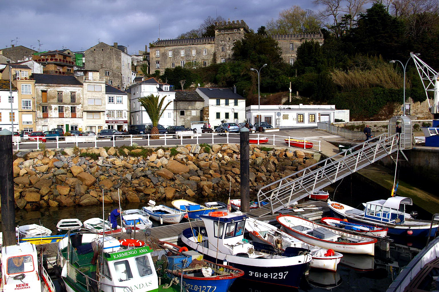Foto playa Figueras. Figueras, Castropol, Asturias