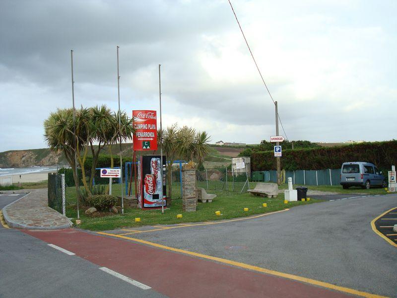 Foto playa Pantorga / Santa Gadea / Ribeiria. Camping Playa Penarronda (entrada) Bares Castropol Asturias