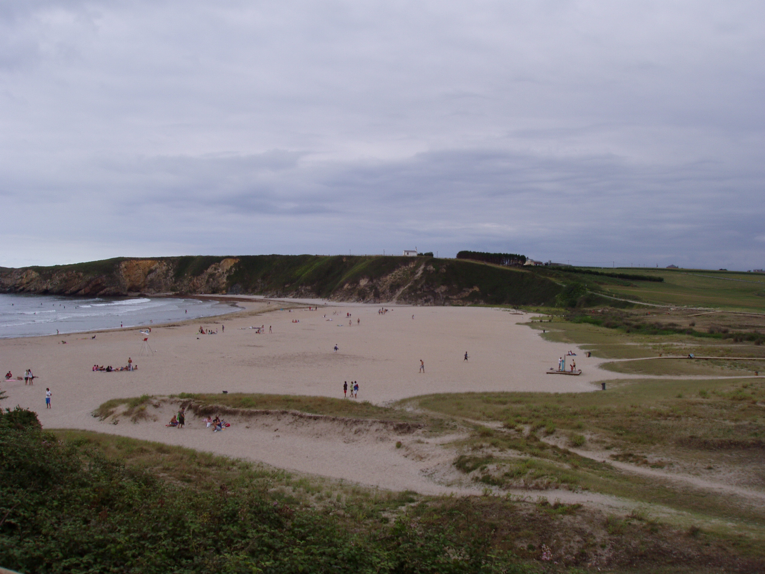 Foto playa Pantorga / Santa Gadea / Ribeiria. Peñarronda beach