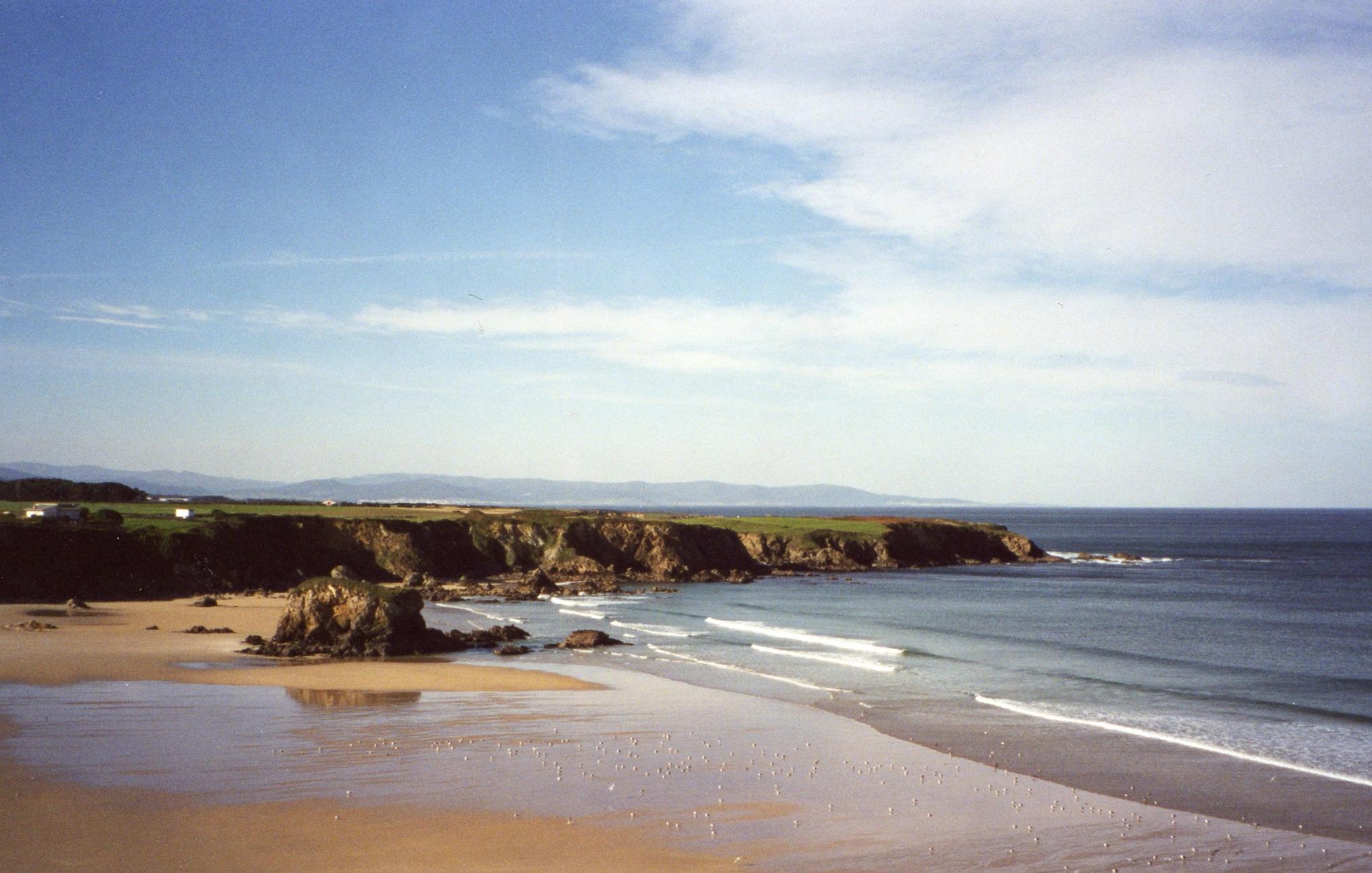 Foto playa Pantorga / Santa Gadea / Ribeiria. Playa de Penarronda