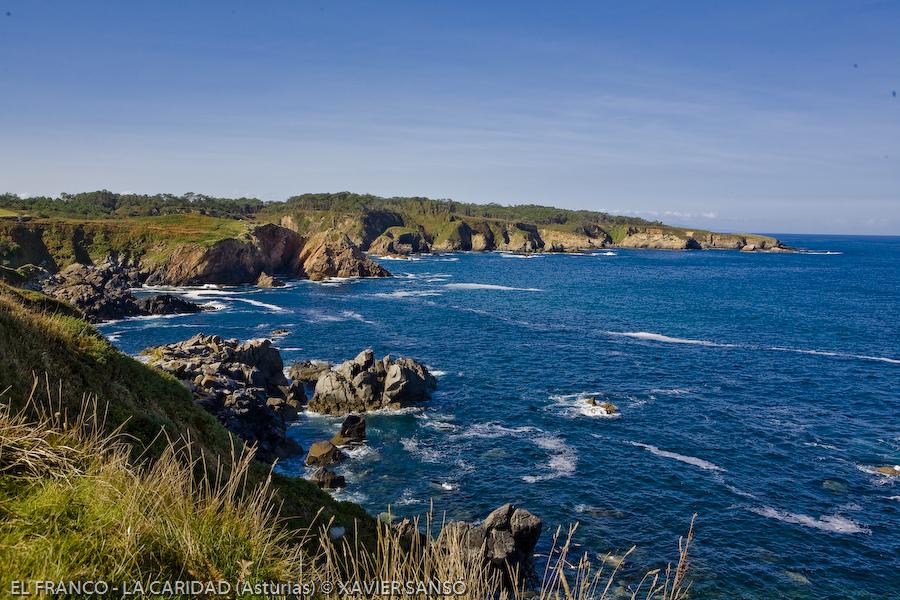 Foto playa Torbas. El Franco (Asturias)