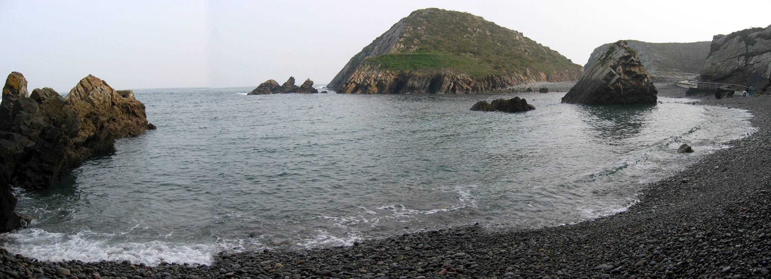 Foto playa Cambaredo. Playa de Pormenande (El Franco)